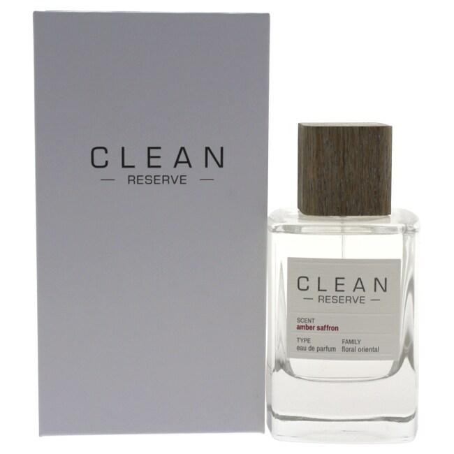55cd62352d Shop Clean Reserve Amber Saffron Unisex 3.4-ounce Eau de Parfum Spray -  Free Shipping Today - Overstock - 18252627