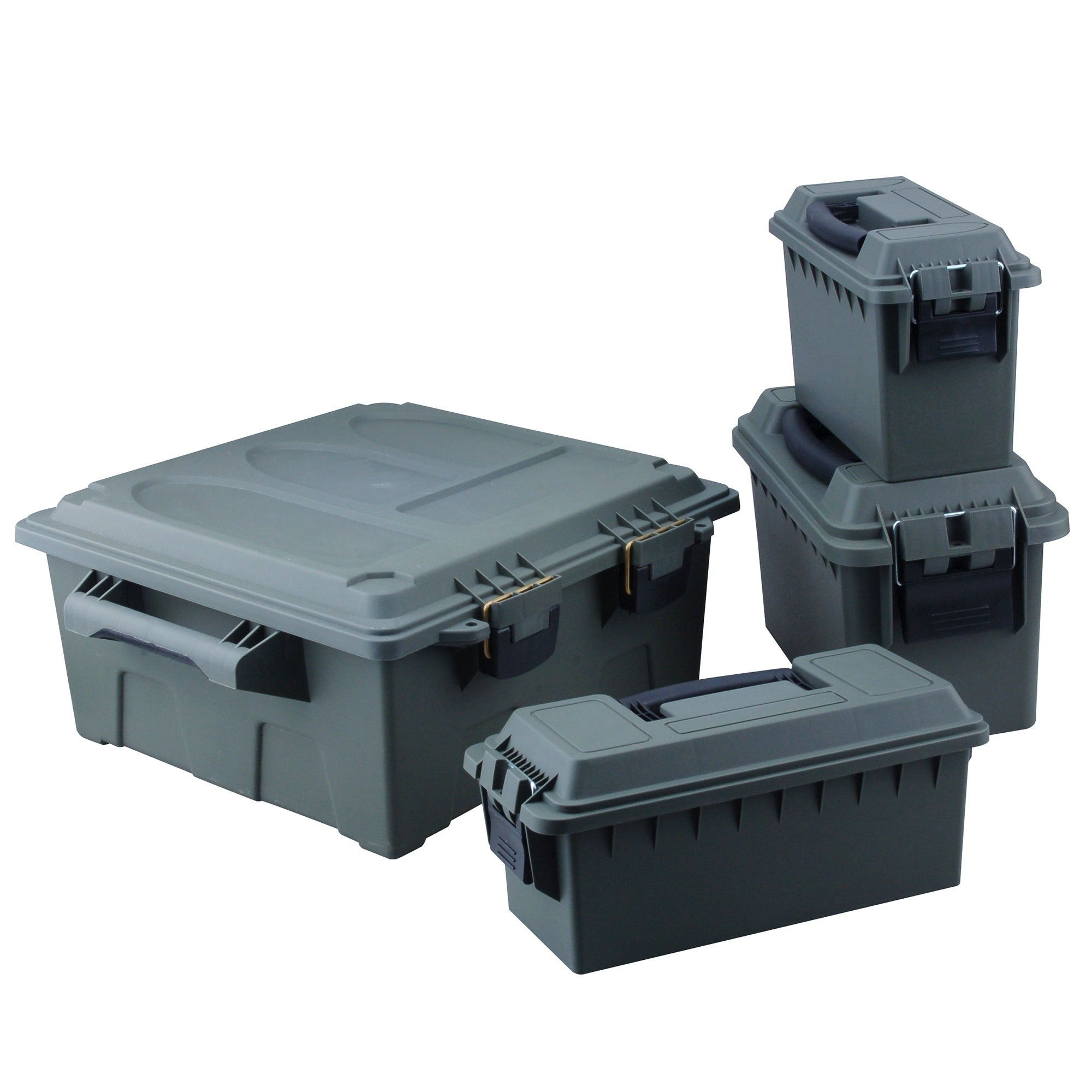 Shop High Desert 4 Pack Ammo Box Dry Storage Utility Box - Free Shipping Today - Overstock.com - 18257880  sc 1 st  Overstock.com & Shop High Desert 4 Pack Ammo Box Dry Storage Utility Box - Free ...