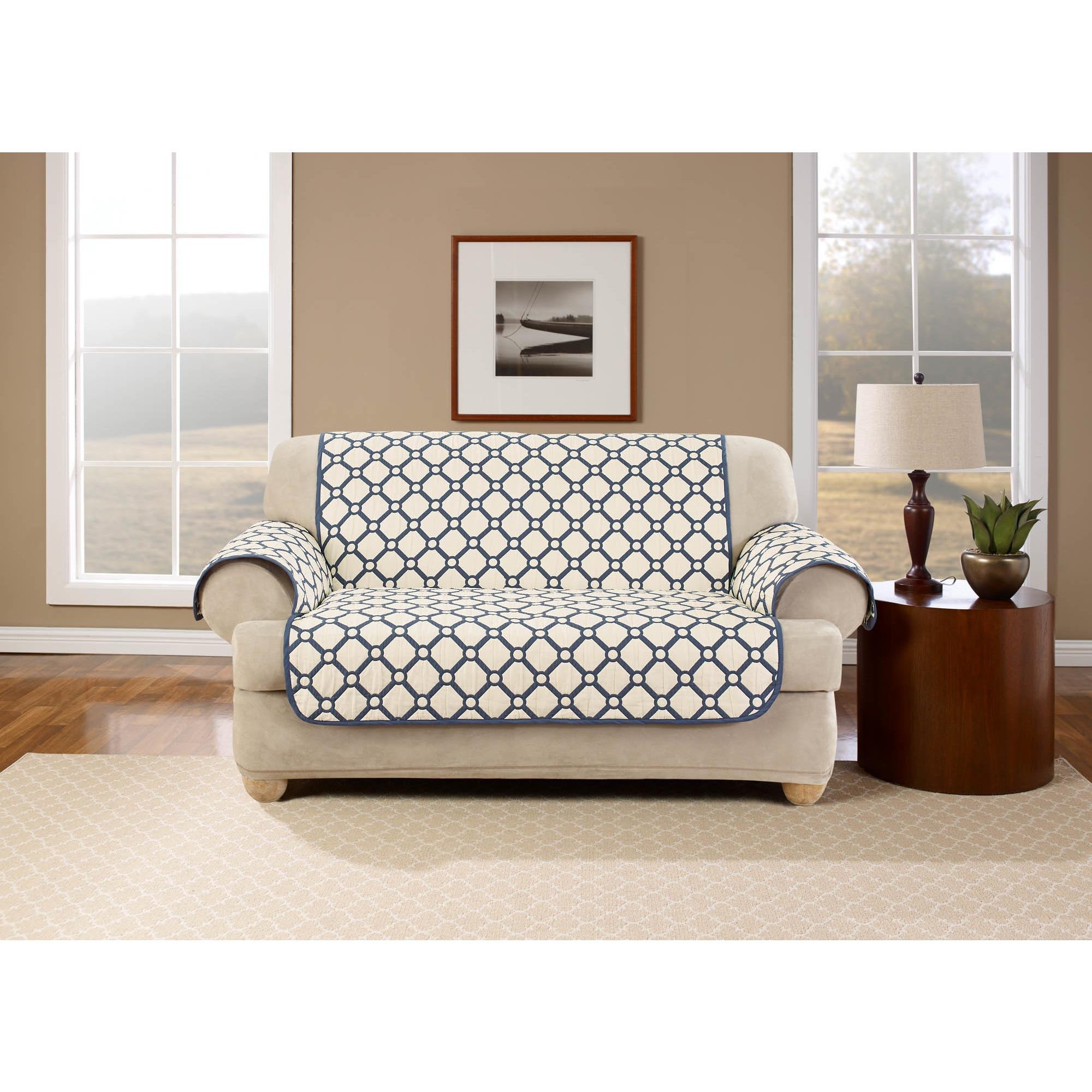 Belle Maison Peyton Reversible Sofa Protector Free Shipping Today 18258279