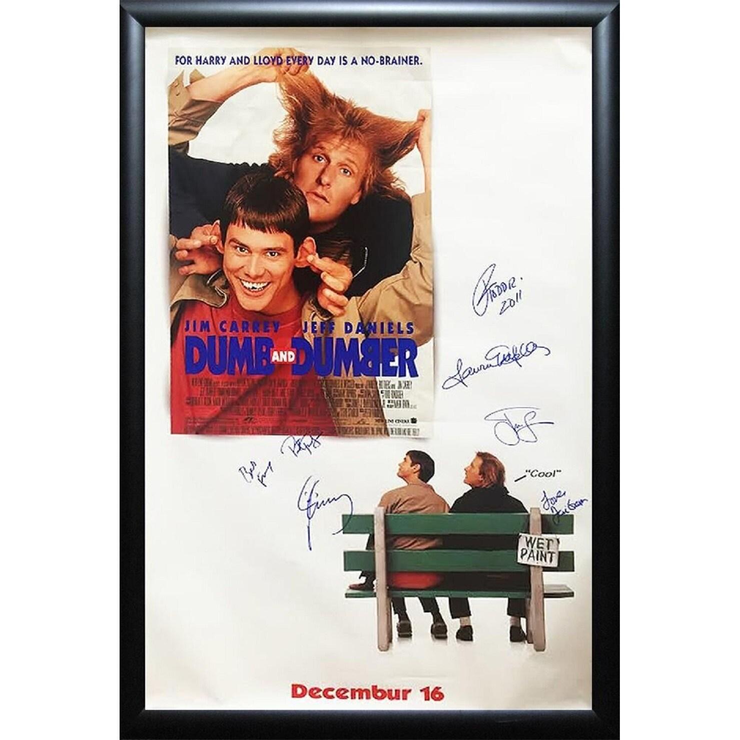 Dumb & Dumber - Signed Movie Poster