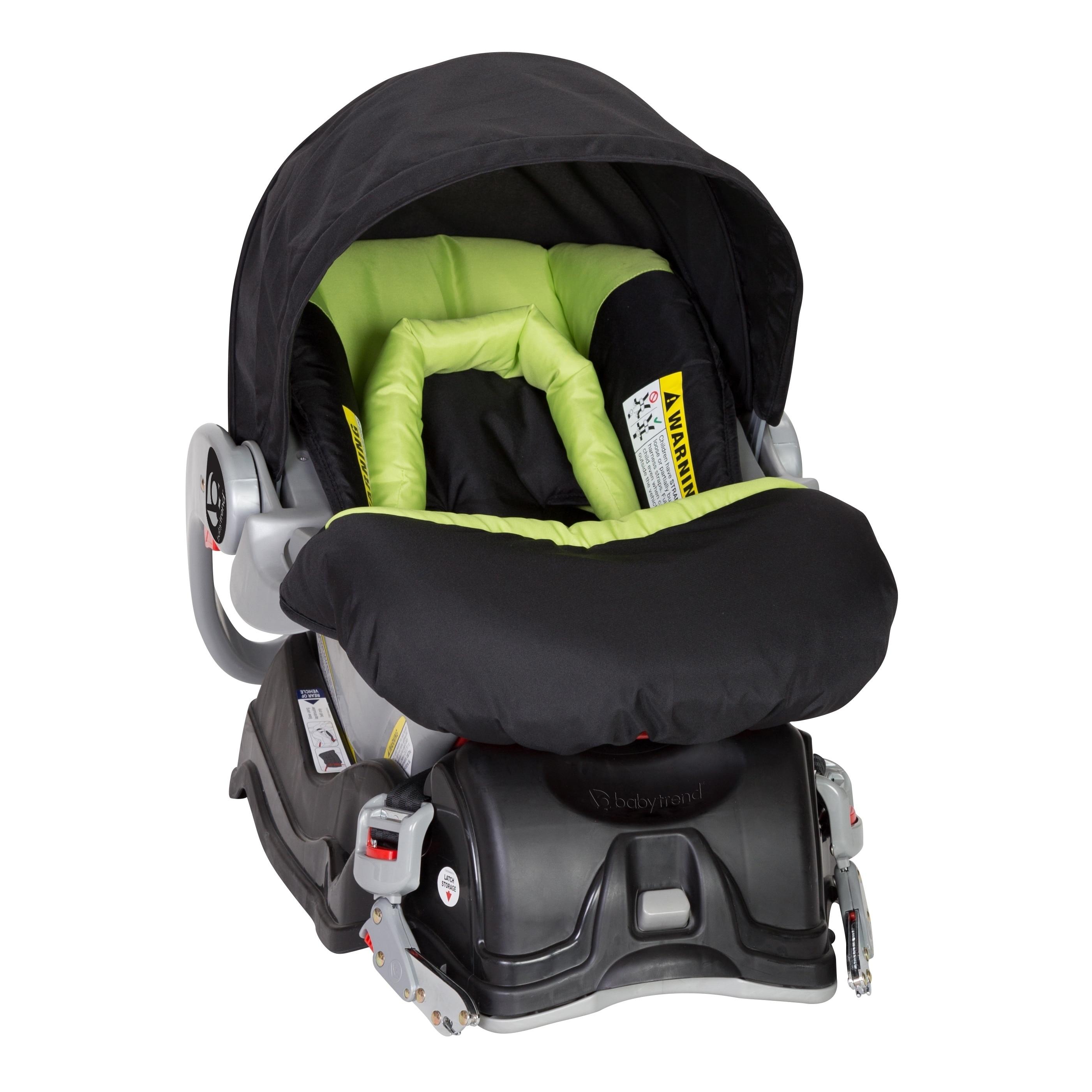 Shop Baby Trend EZ Flec Loc Infant Car Seat30lbSpring Green