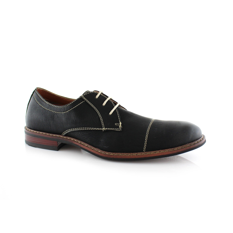 ferro aldo shoes round toes oxford casual diner ware