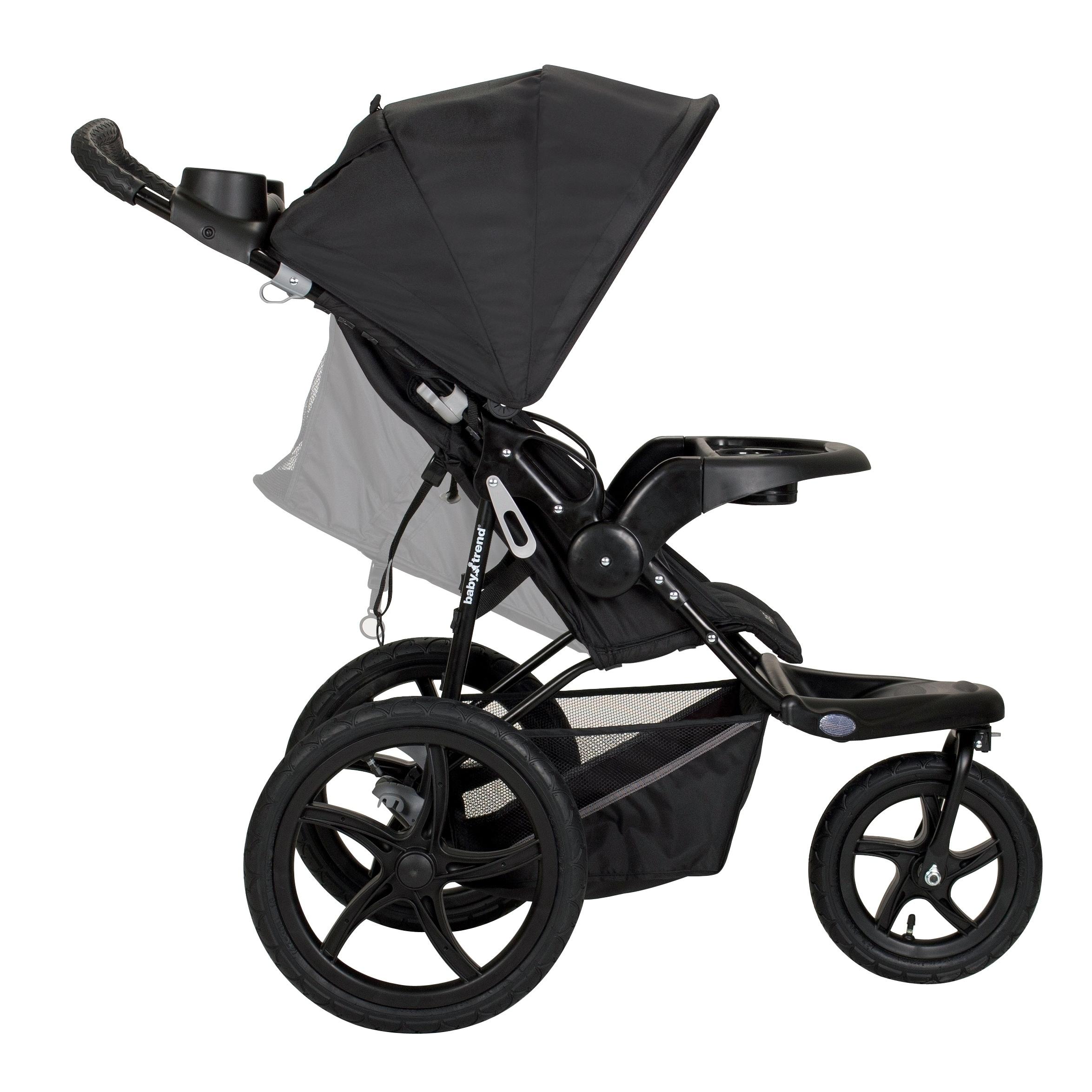 Baby Trend Range LX Jogger Stroller,Chrome