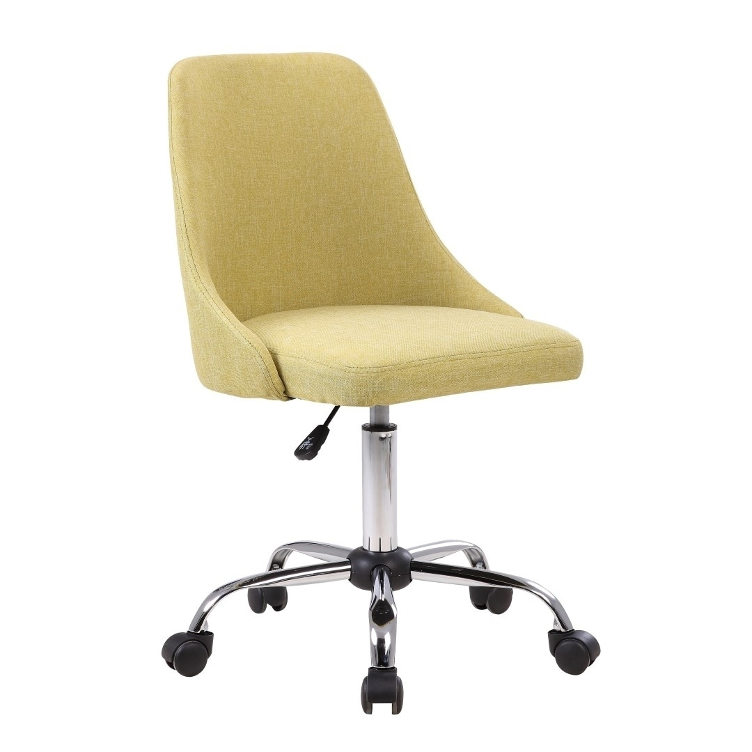 shop porthos home office chair with fabric upholstery adjustable