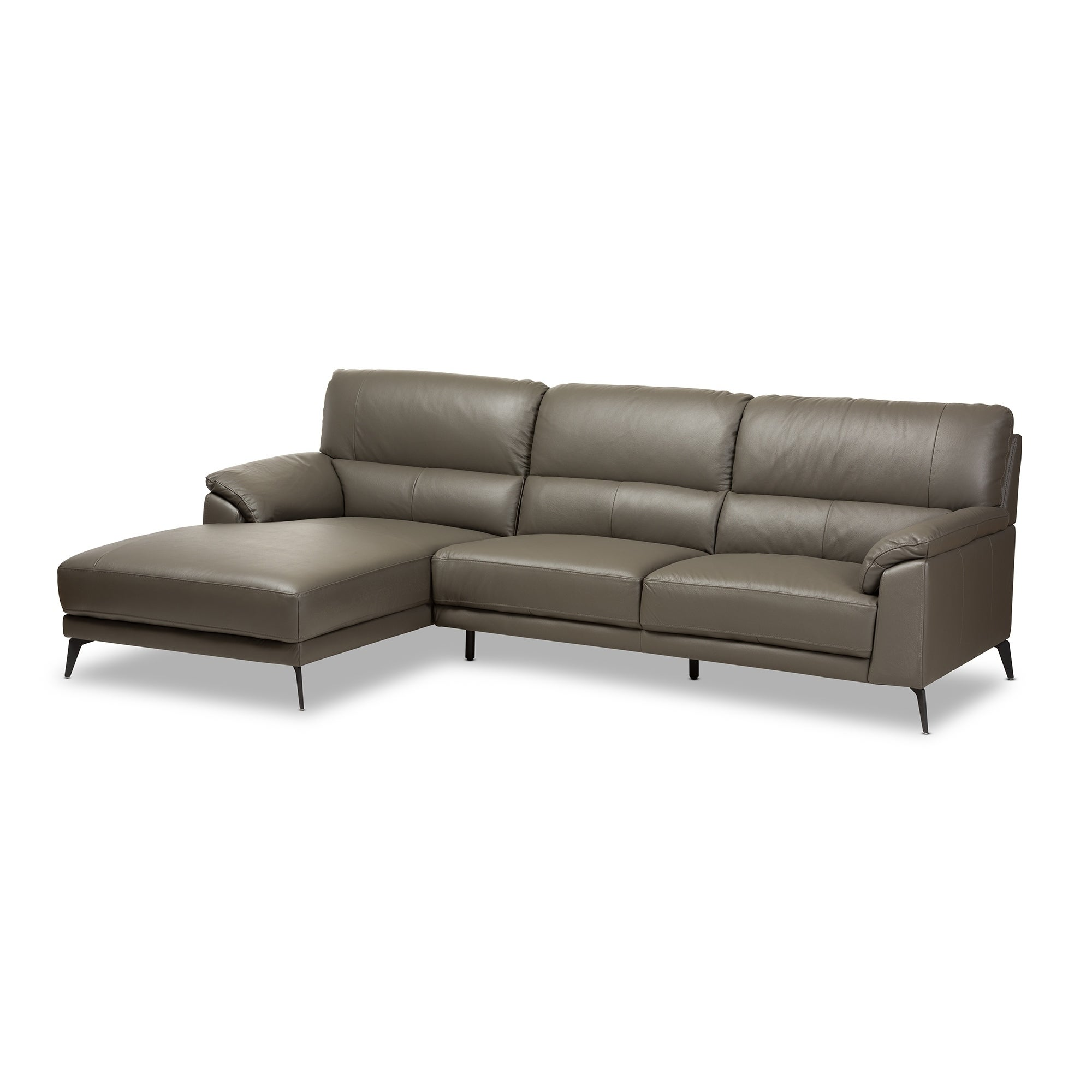w track sofa chaise sectional with couch block usa arm premium leather