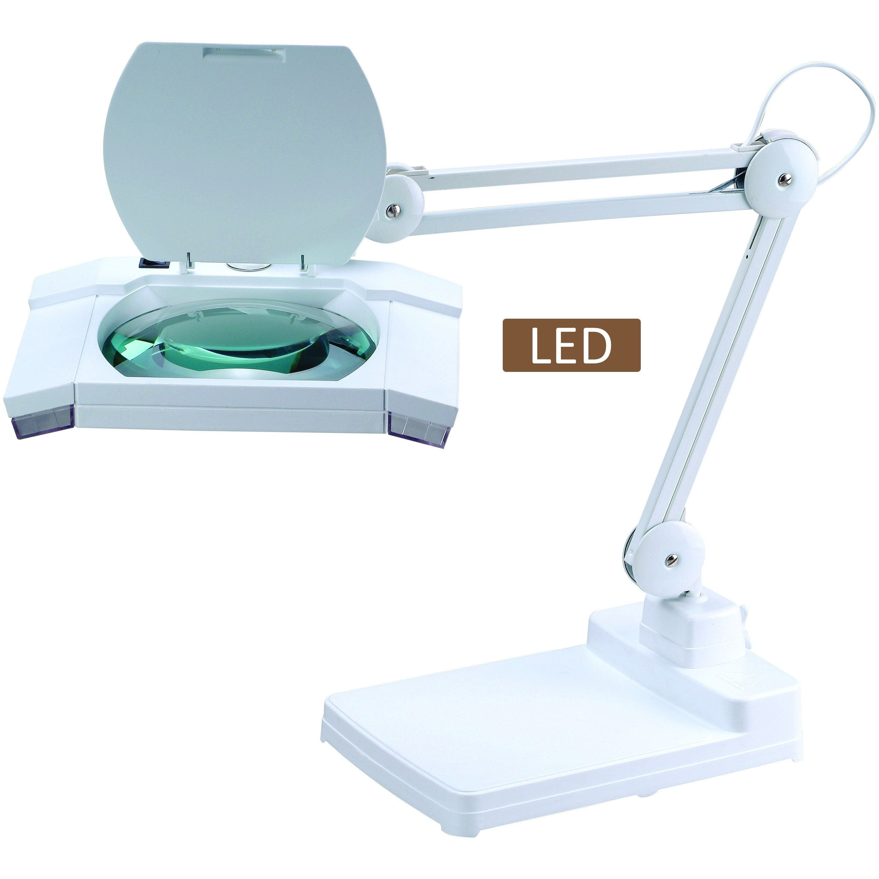 magnifying led elenco product magnifier with zd lamp hand third