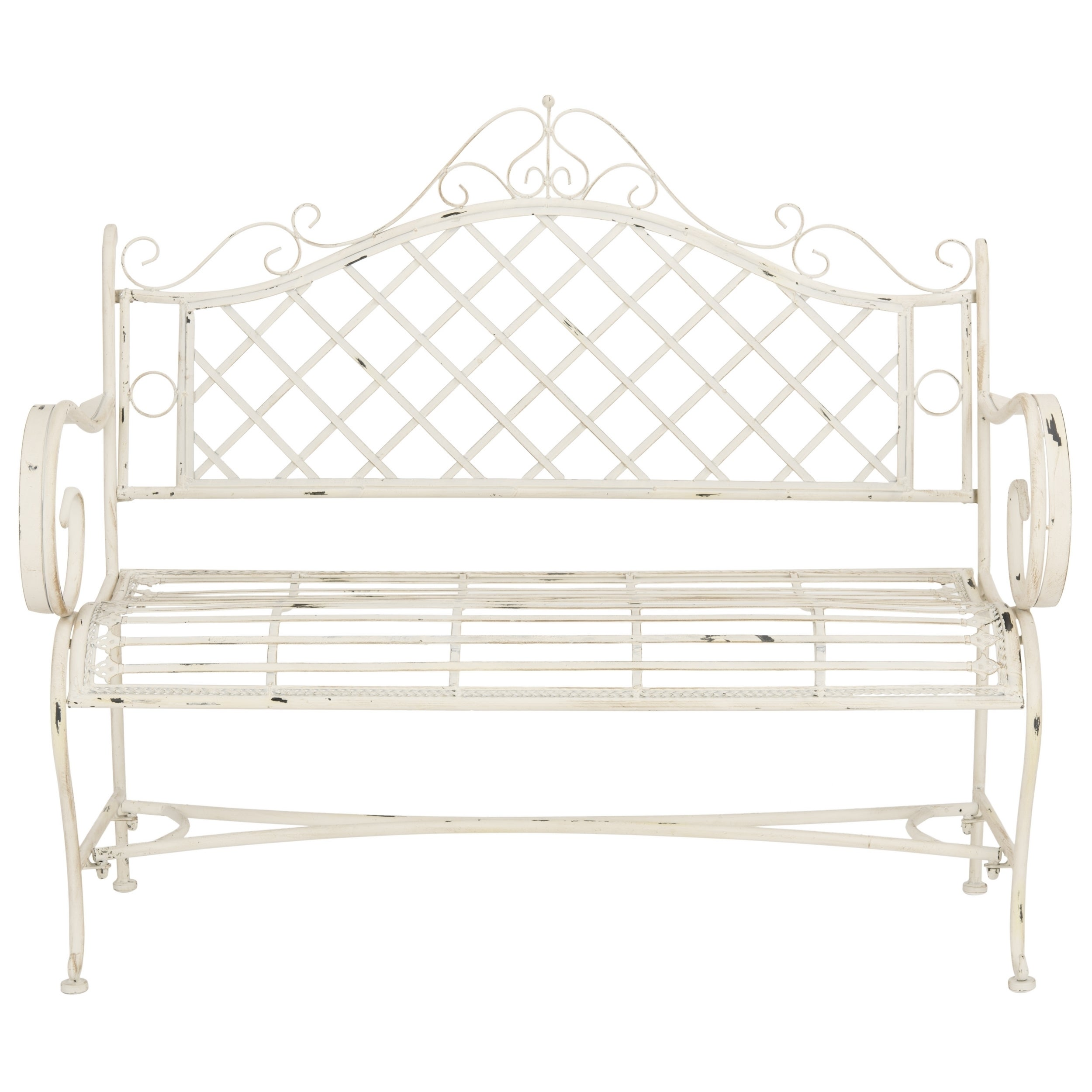 set cast home bench design iron gallery furniture decoration garden benches outdoor rectangle minimalist antique chairs furnitures white