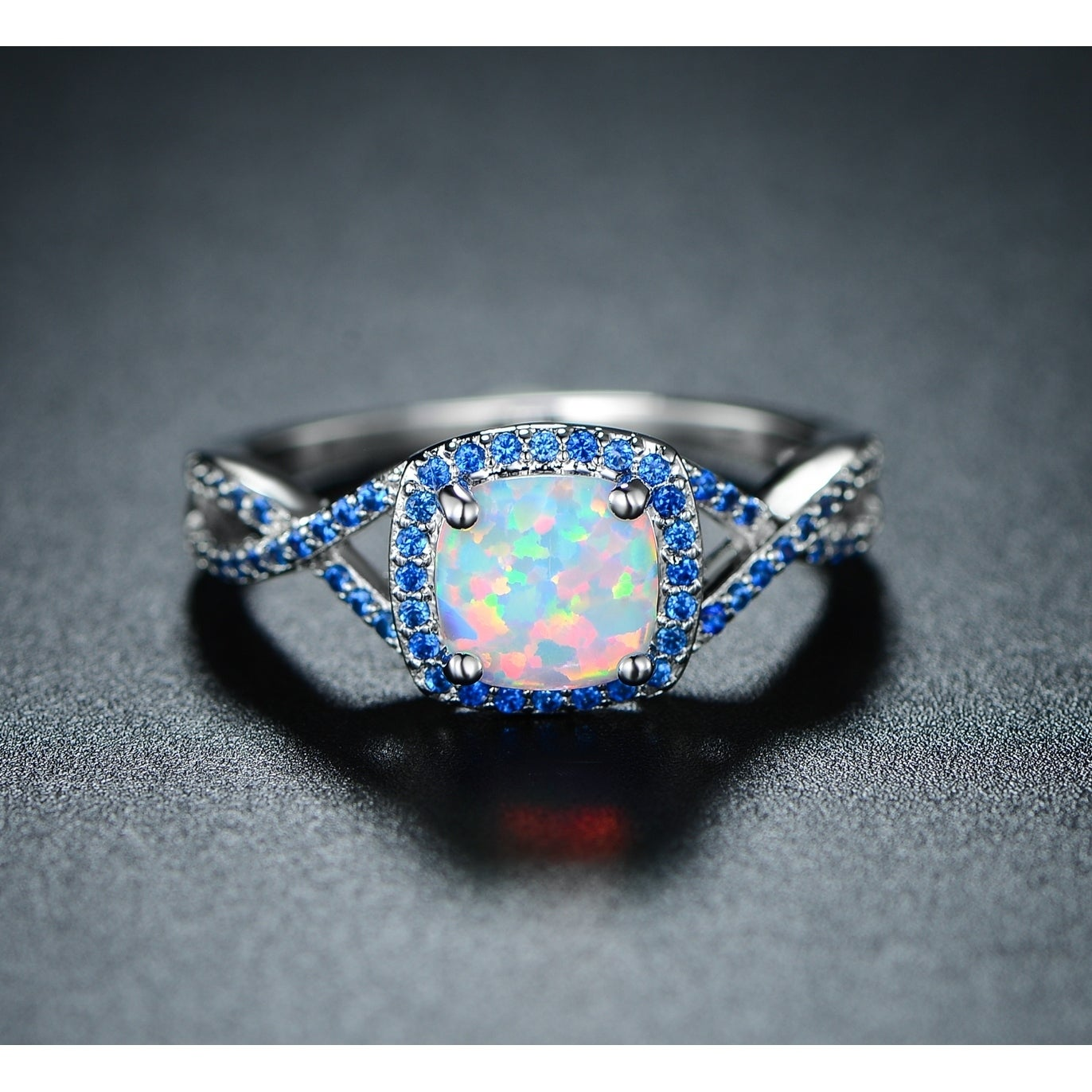 and the opal jewellery ring img vintage style jeweller cluster rings sapphire category contemporary product home
