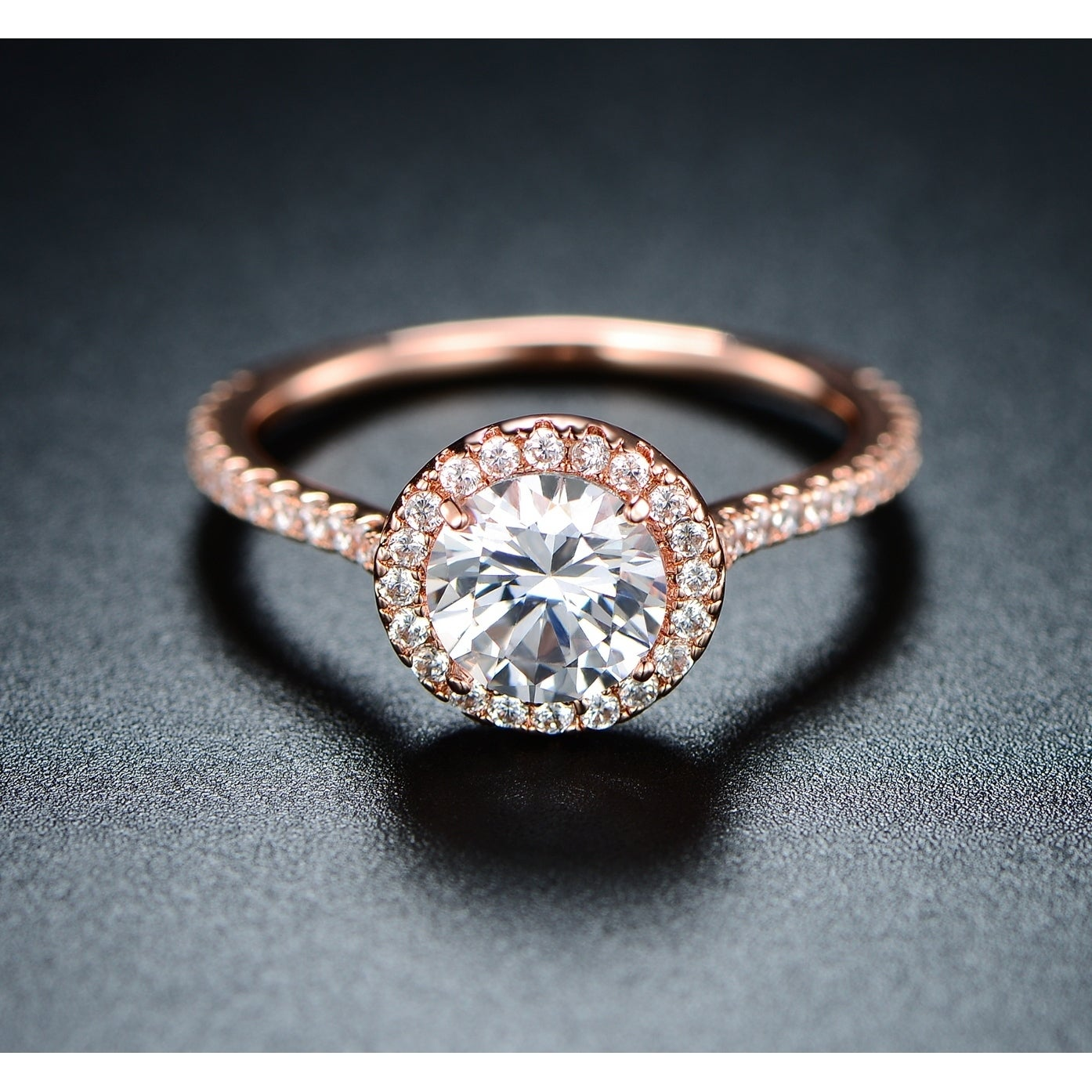 diamond antique solitaire engagement carat rings yellow fleur a products and victorian motif center de french lis with ring cut rose gold in design