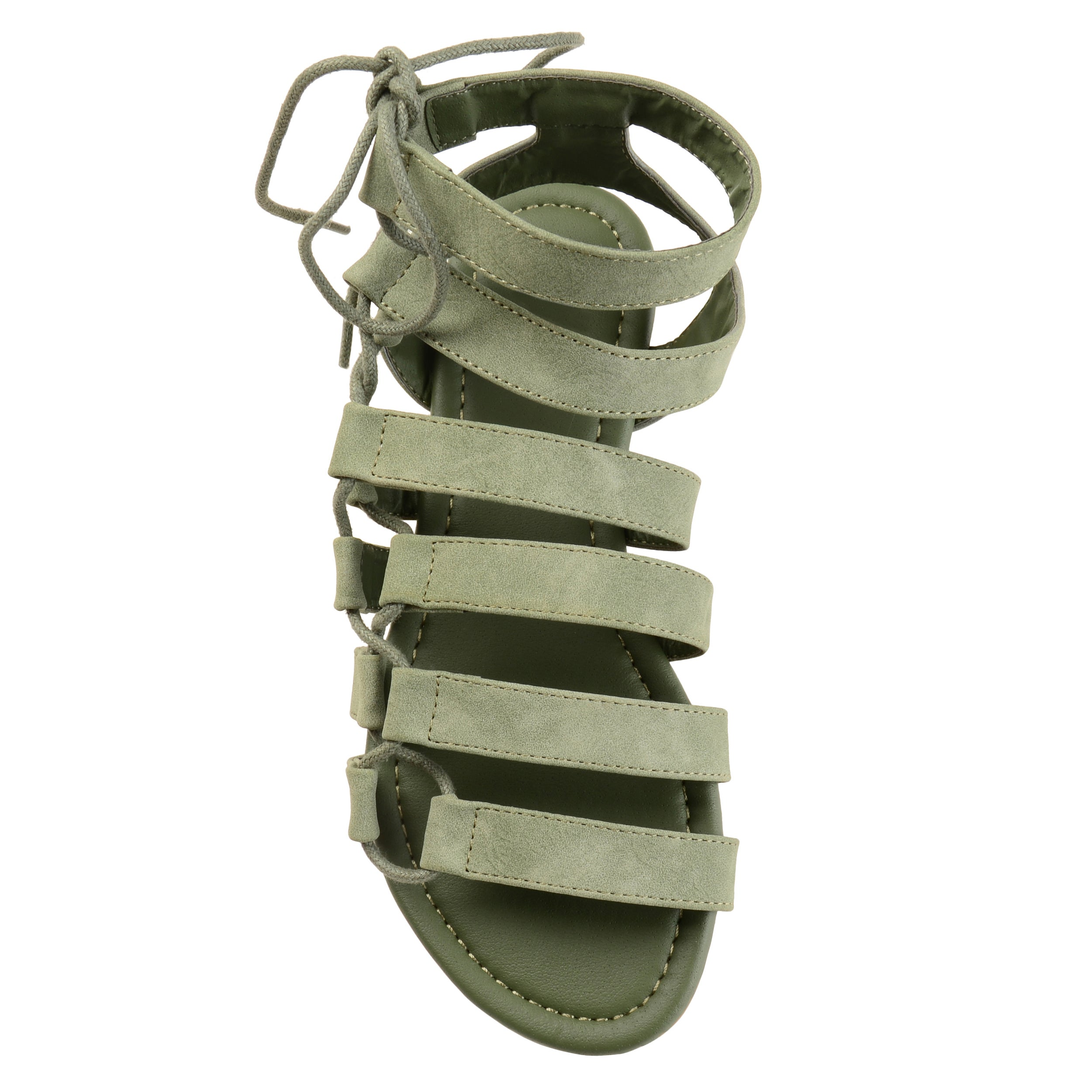 abd62c522d73bd Shop Journee Collection Women s  Cleo  Strappy Caged Gladiator Sandals - On  Sale - Free Shipping On Orders Over  45 - Overstock - 18515267