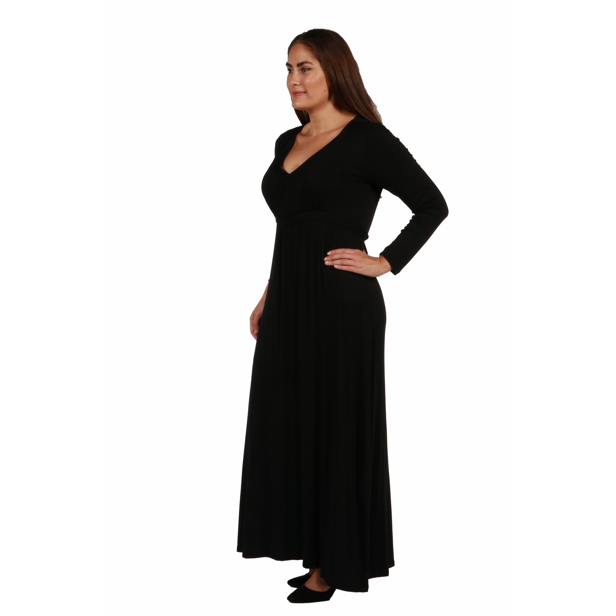 2b5fdefb1ef2 Cool Plus Size Maxi Dresses - Barrier Surveillance