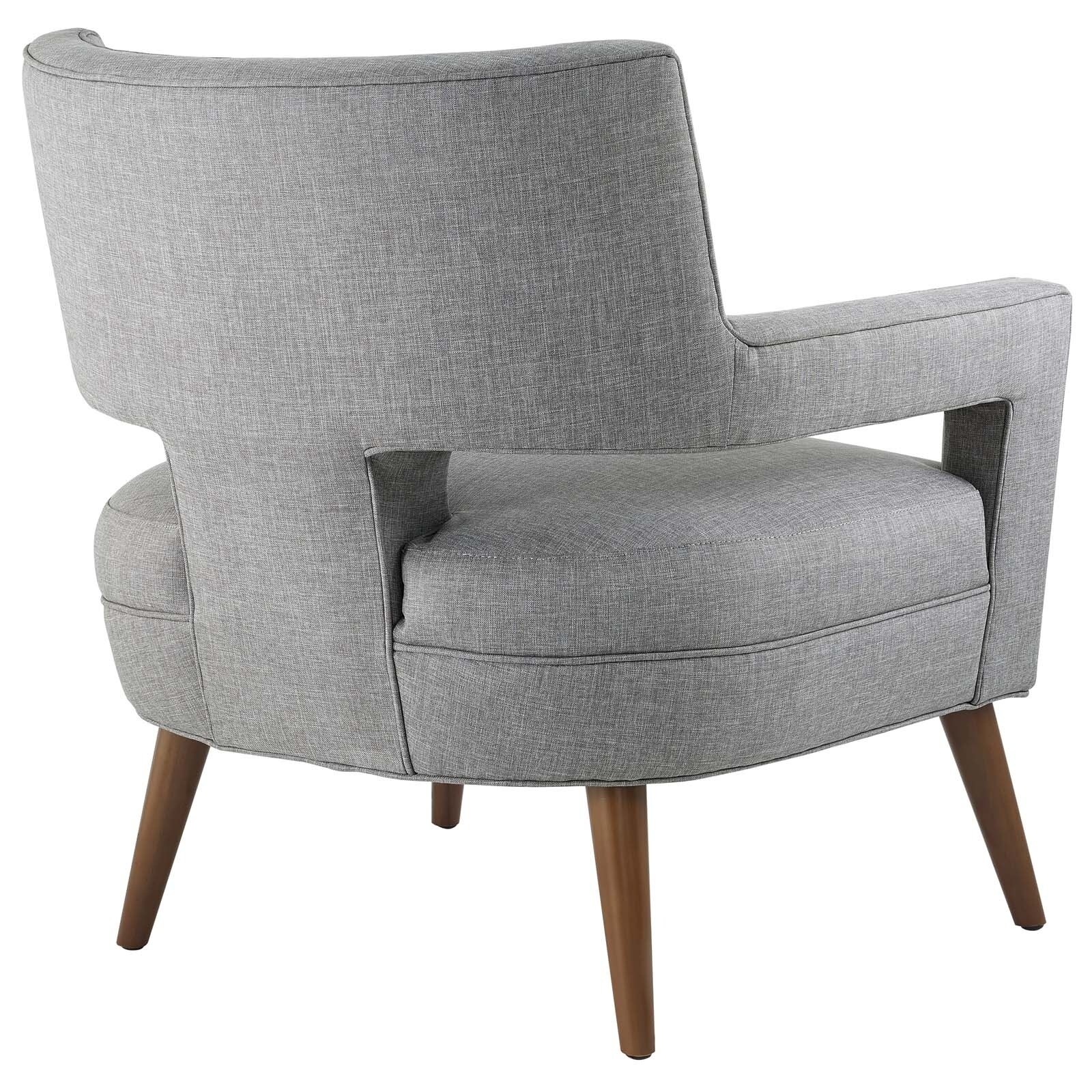 Shop Sheer Upholstered Fabric Armchair   On Sale   Free Shipping Today    Overstock.com   18521688