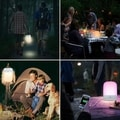 Rechargeable Touch Lamp, Portable Camping Lights with 2000mAh Internal Battery