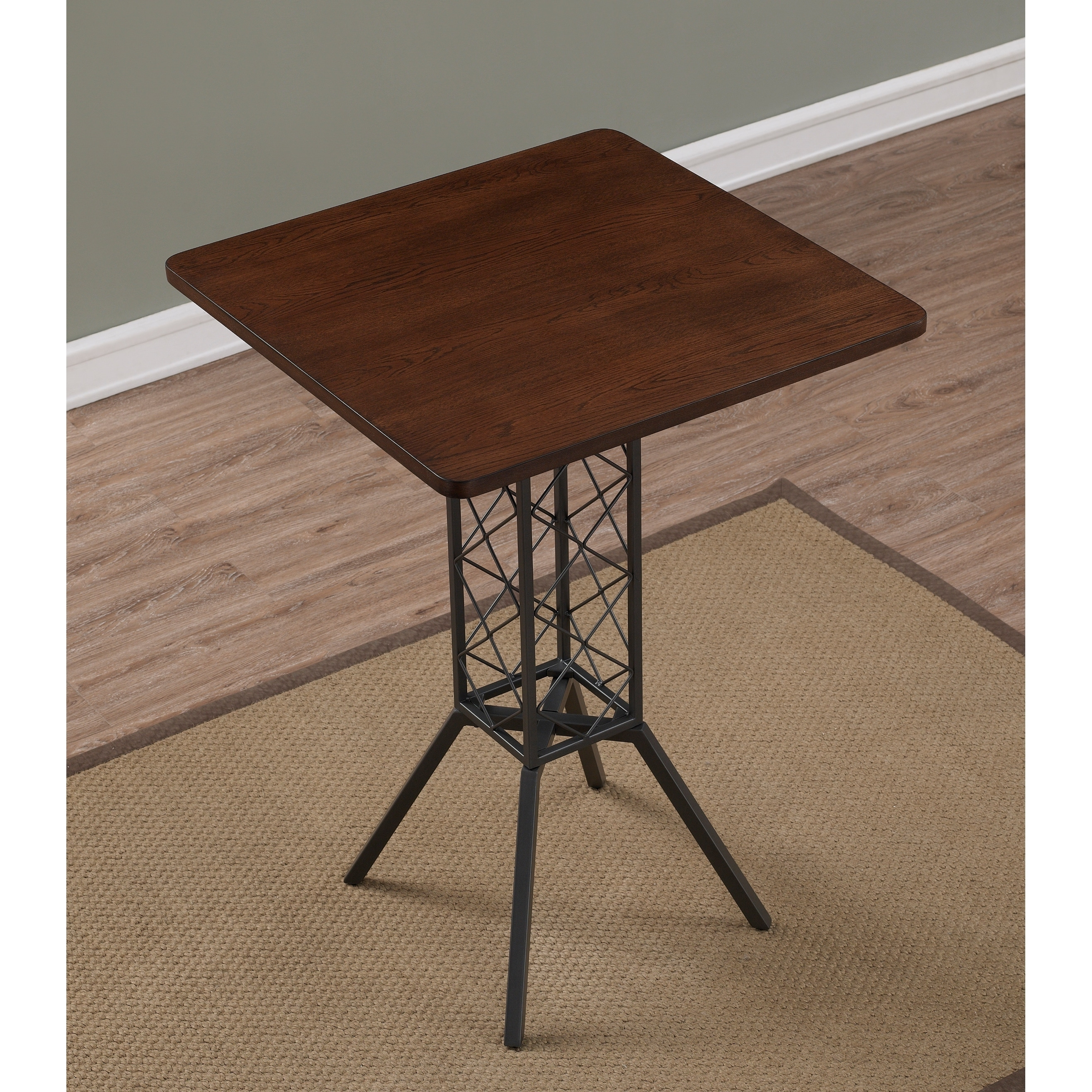 Shop Truro 36 Inch Counter Height Table By Greyson Living   Grey/Charcoal    On Sale   Free Shipping Today   Overstock.com   18525689