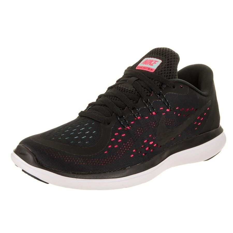 e2a9524520de7 Shop Nike Women s Flex 2017 RN Running Shoe - Free Shipping Today -  Overstock - 18528444