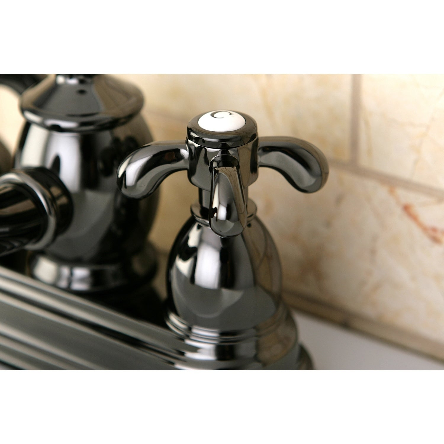 Victorian Spout Black Stainless Steel Bathroom Faucet - Free ...