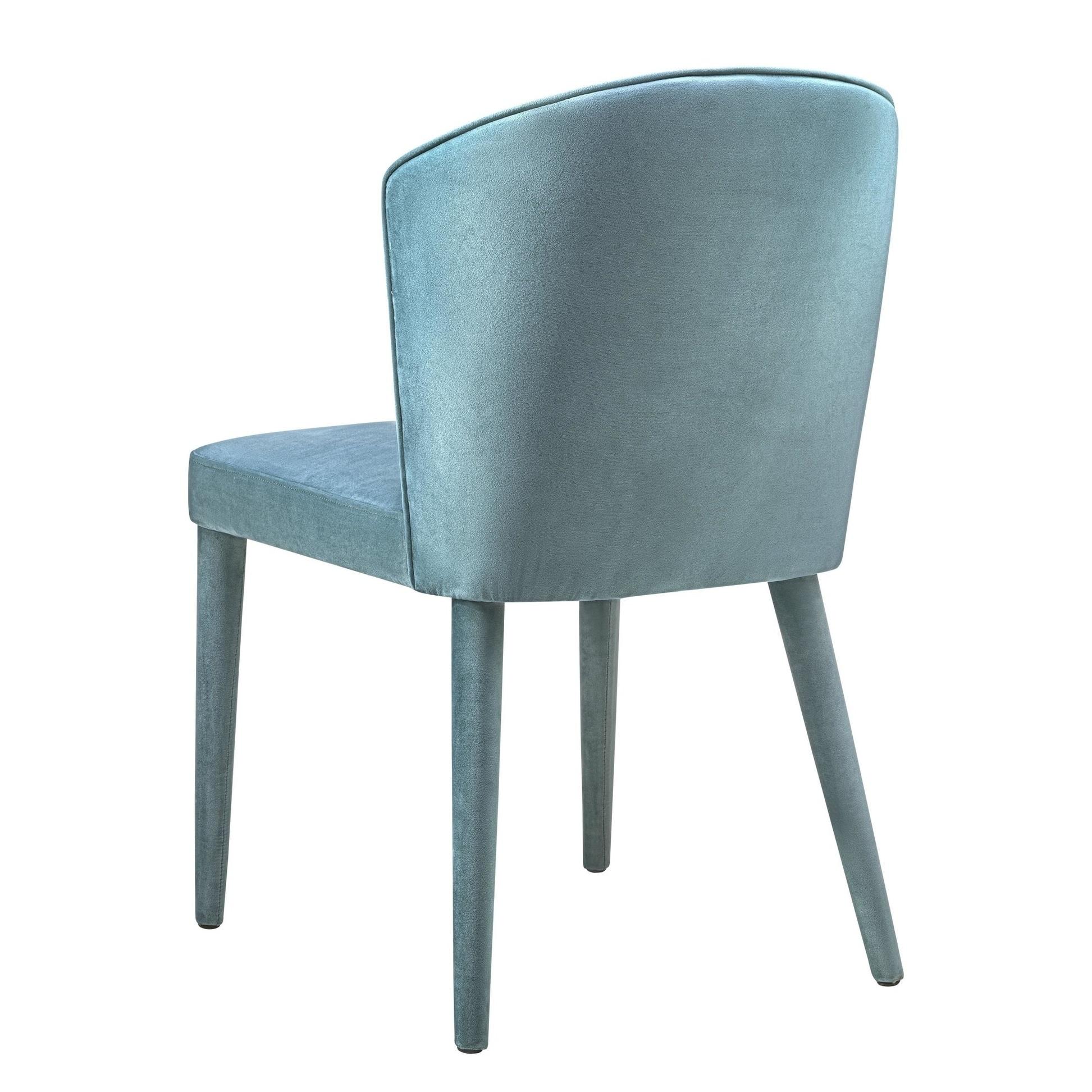 Shop Metropolitan Sea Blue Velvet Chair   Free Shipping Today    Overstock.com   18533743