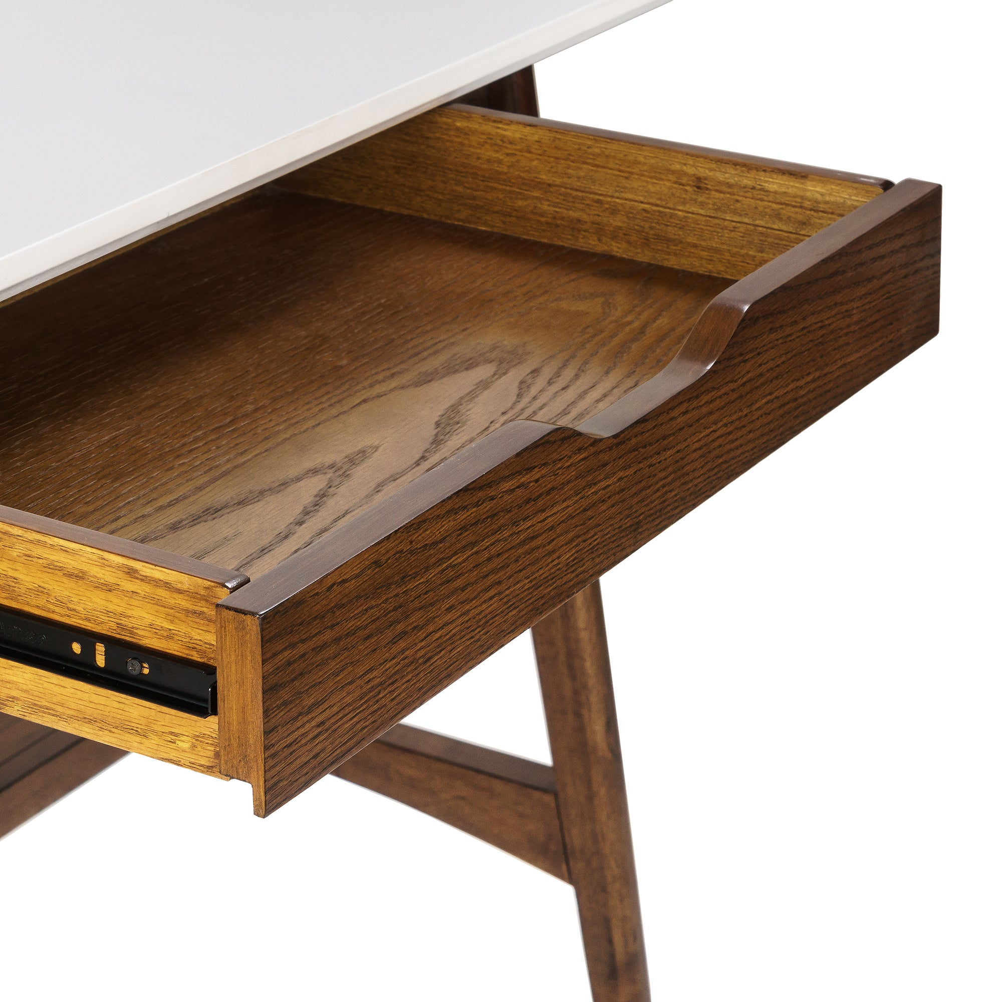 Shop Madison Park Avalon White/Pecan Desk - Free Shipping Today ...