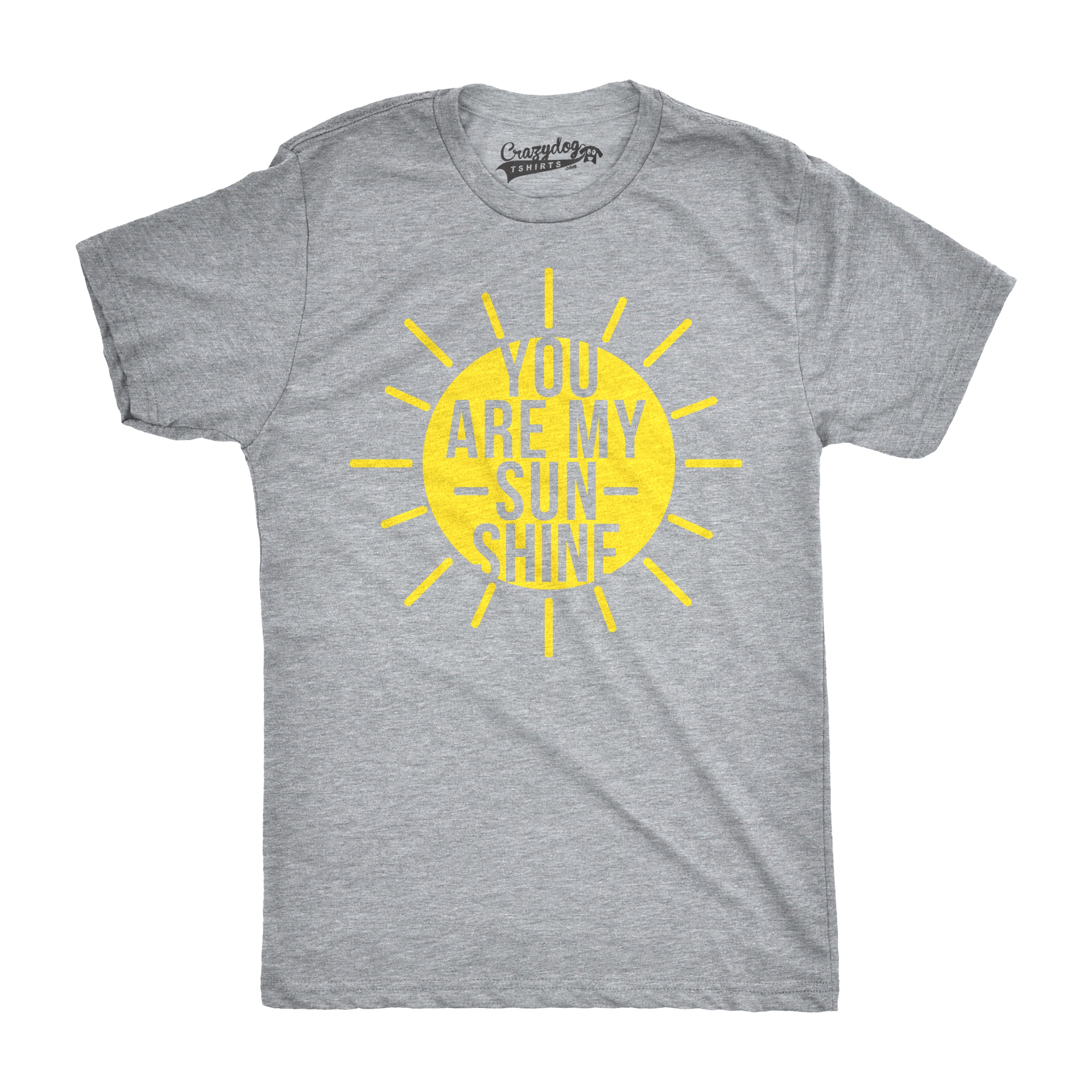 9da8faa28 Shop Mens You Are My Sunshine T shirts Funny Summer Tee Cute Adorable Novelty  Graphic T shirt - Free Shipping On Orders Over $45 - Overstock - 18534501
