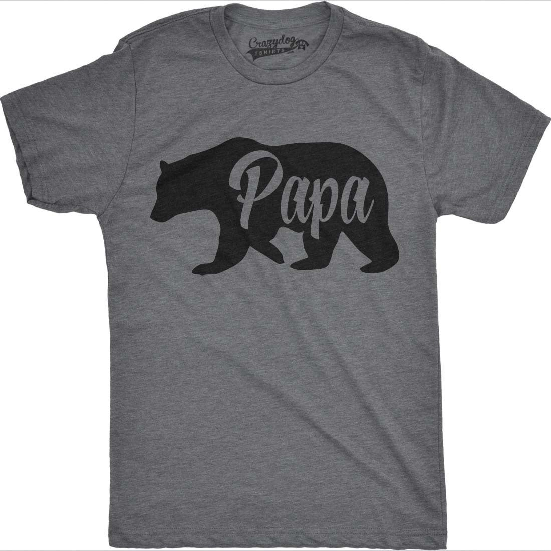 076d0c8eca Shop Mens Bear Papa Funny Shirts for Dads Gift Idea Novelty Tees Family T  shirt - On Sale - Free Shipping On Orders Over $45 - Overstock - 18534642