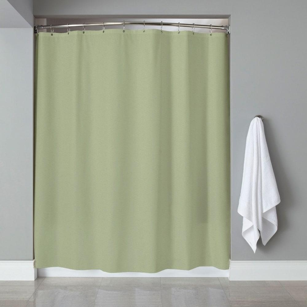 Shop Solid Color 100% PEVA Shower Curtain/Liner 70\