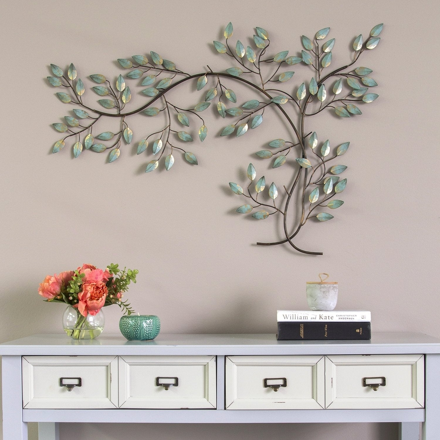 Stratton Home Decor Patina Tree Branch Wall Free Shipping Today 18537094