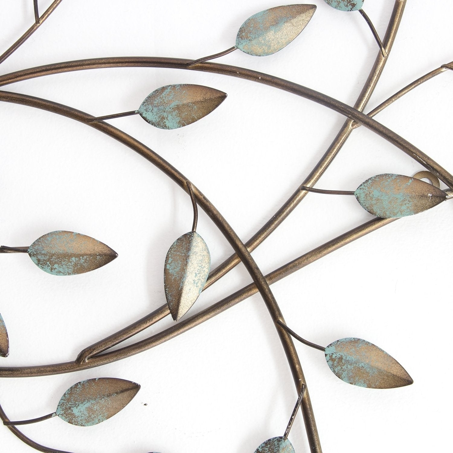 Stratton Home Decor Patina Blowing Leaves Wall Decor - Free Shipping ...