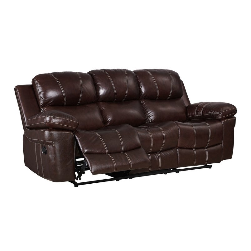 Dante Leather Recliner Sofa Free Shipping Today 18544643