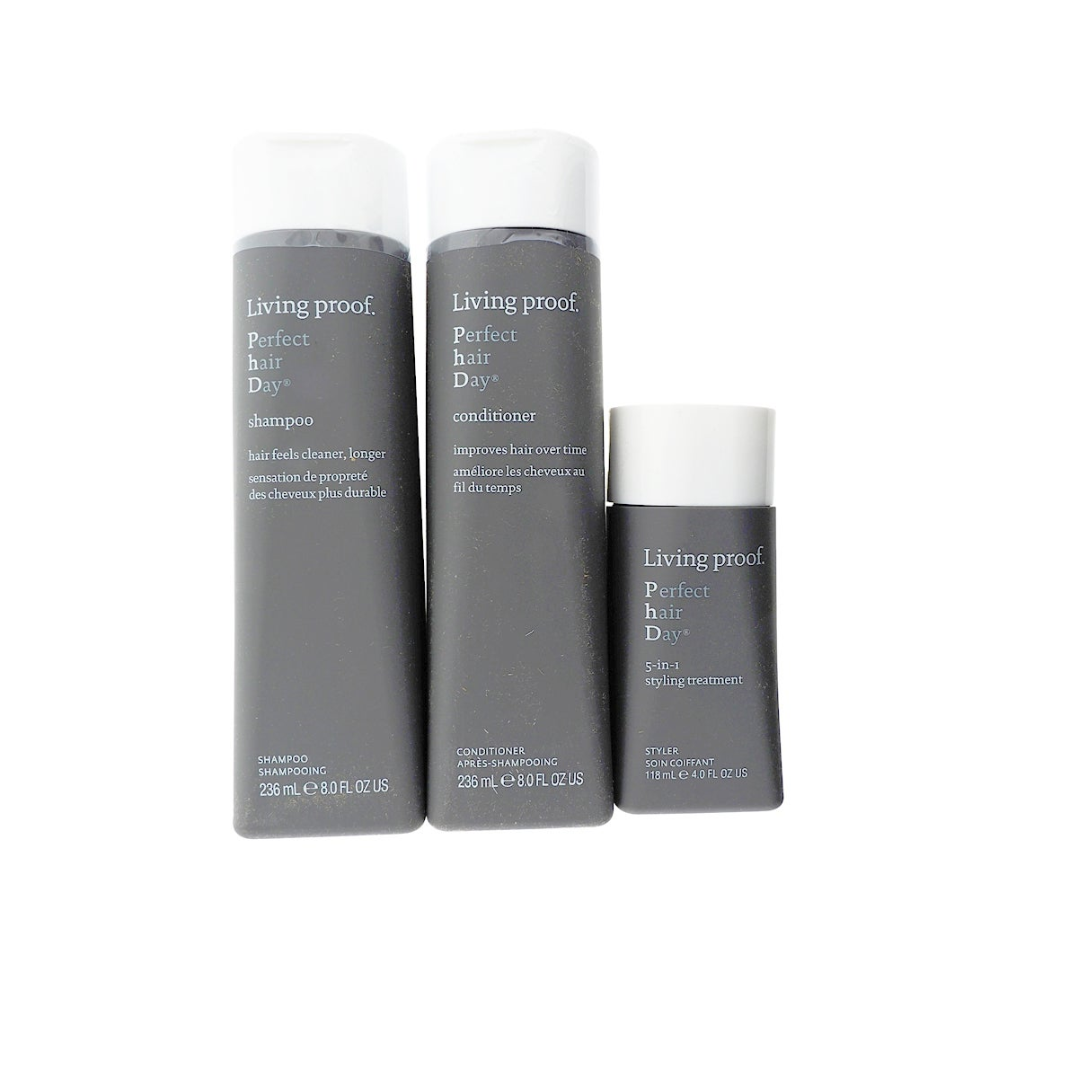 Living Proof Perfect Hair Day Peace Love 3 Piece Holiday Kit Free