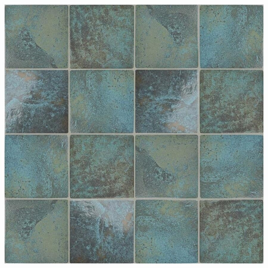 Somertile 6x6 inch oceano green river porcelain floor and wall somertile 6x6 inch oceano green river porcelain floor and wall tile 33case 895 sqft free shipping today overstock 24677264 dailygadgetfo Choice Image