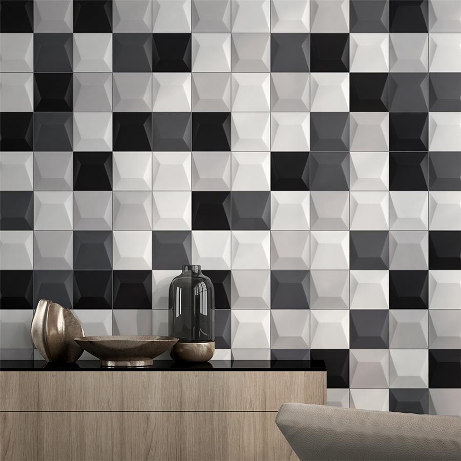 Shop SomerTile Xinch Panama Blanco Ceramic Wall Tile Tiles - 6x6 wall tile patterns