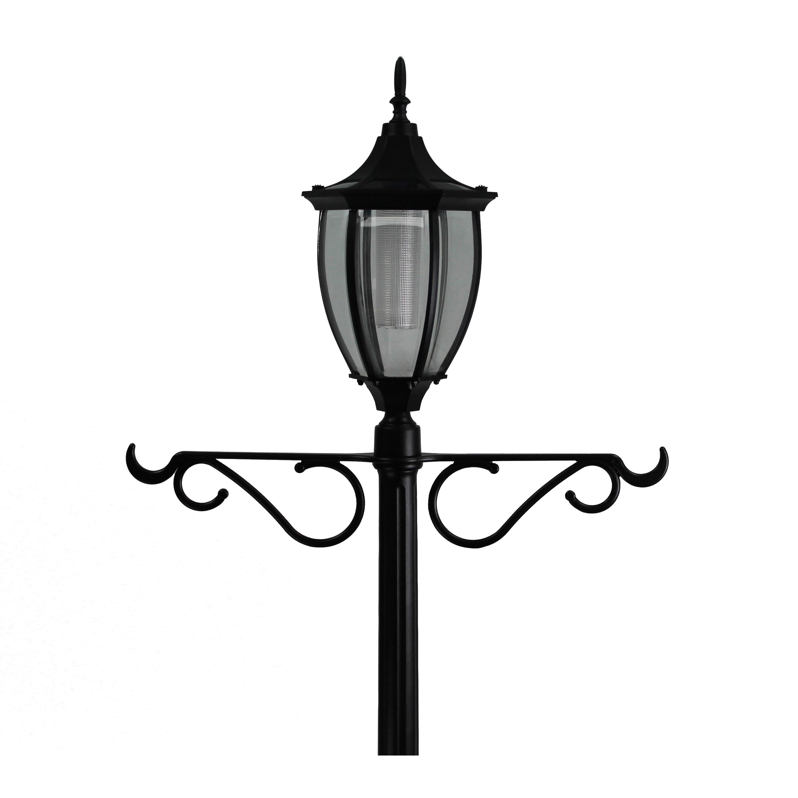 light lighting lights walmart outdoor new post luxury beautiful solar of