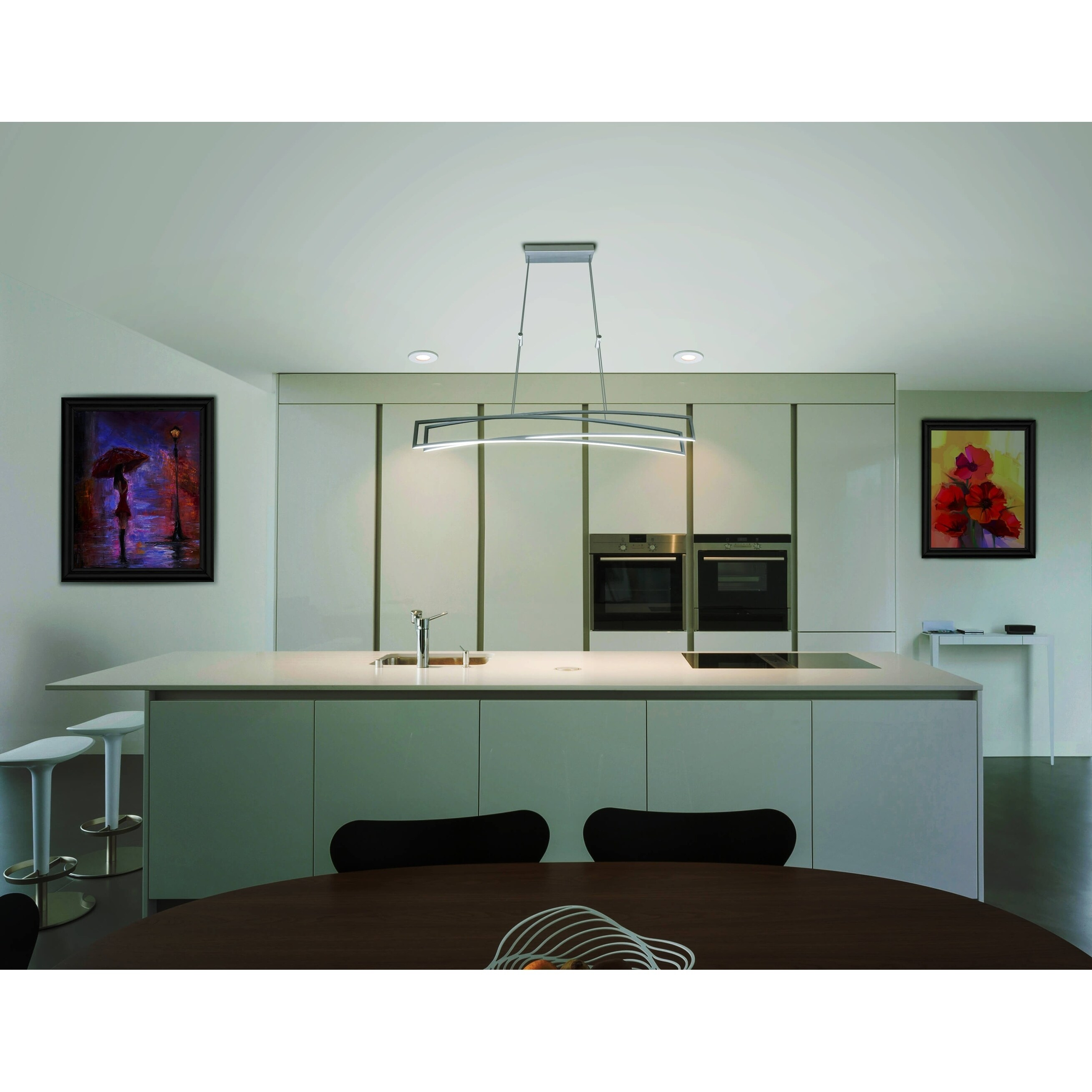 Shop VONN Lighting VMC33440AL Sirius 46-inch Integrated LED Linear ...