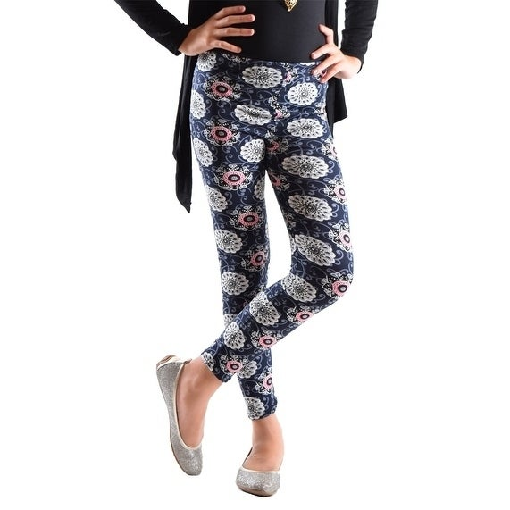399ac8e65 Shop Girl's Fun Printed Leggings Soft and Light - Free Shipping On Orders  Over $45 - Overstock - 18614963