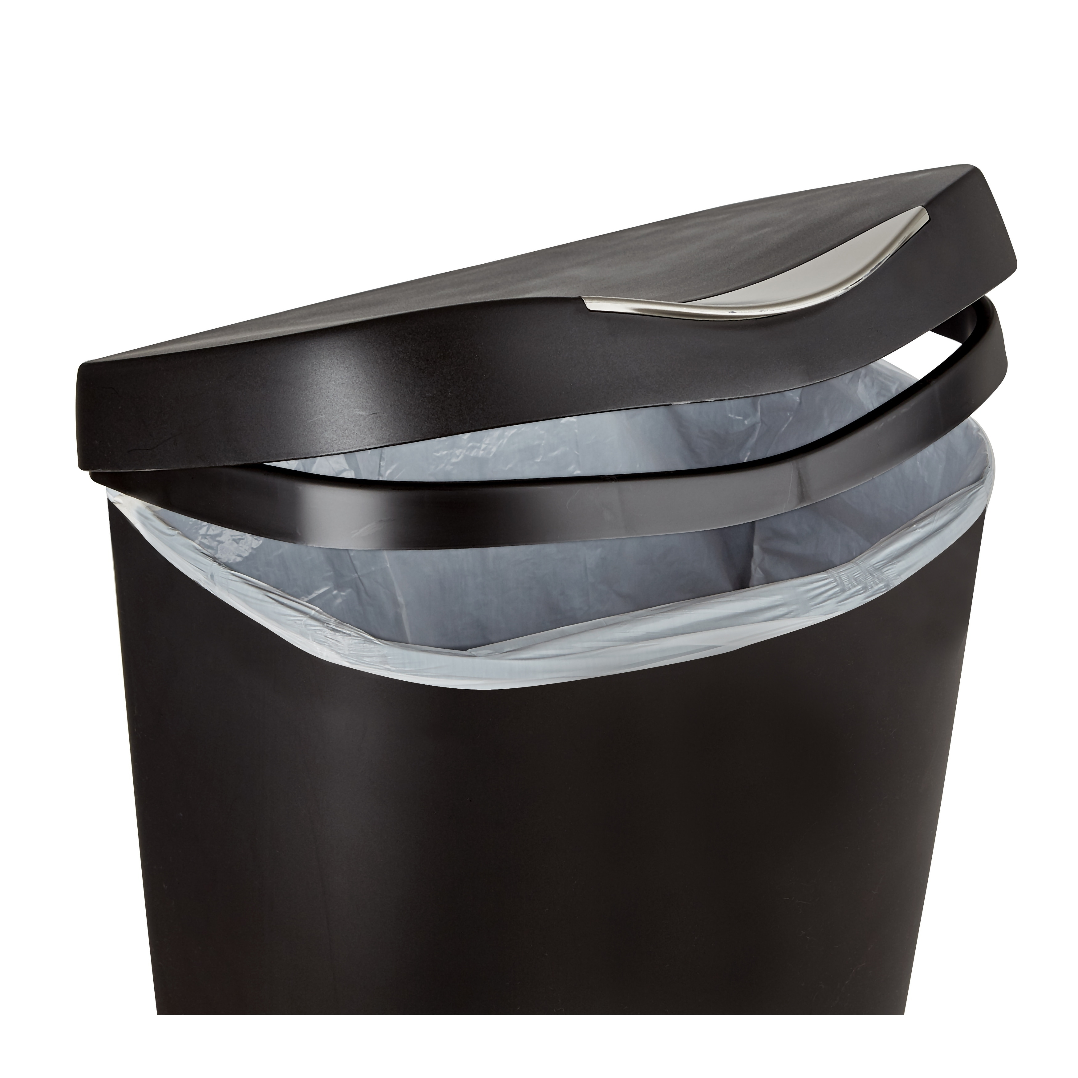Umbra Brim Large 13 Gallon Trash Can With Foot Pedal And Lid Free Shipping On Orders Over 45 18616226