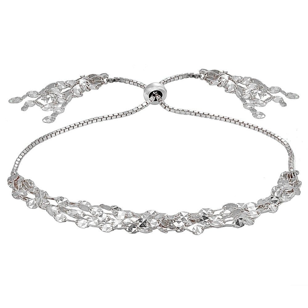 bolo tw bracelet amour diamond in silver ct sterling