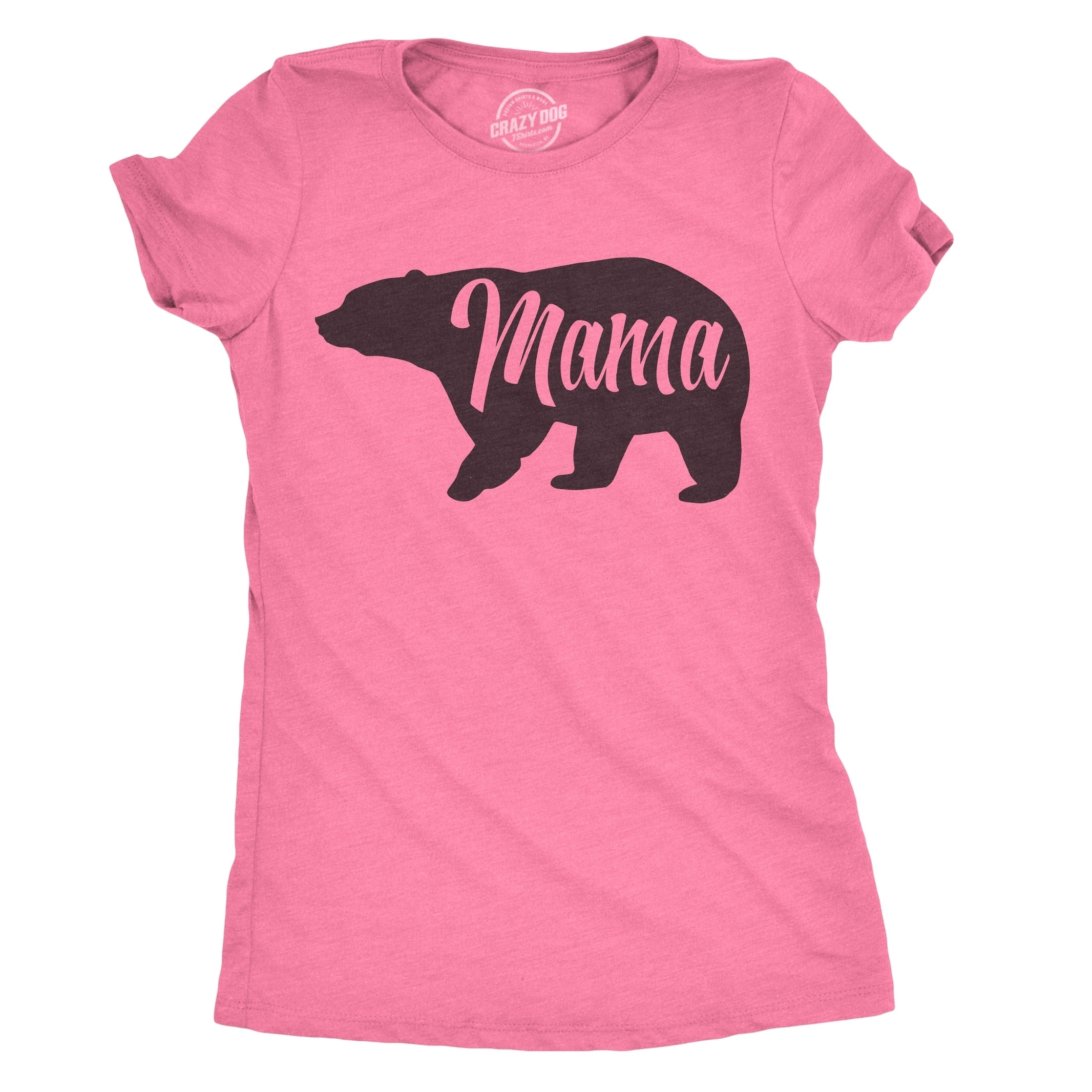 5d97151c Shop Womens Mama Bear T Shirt - On Sale - Free Shipping On Orders Over $45  - Overstock - 18655558