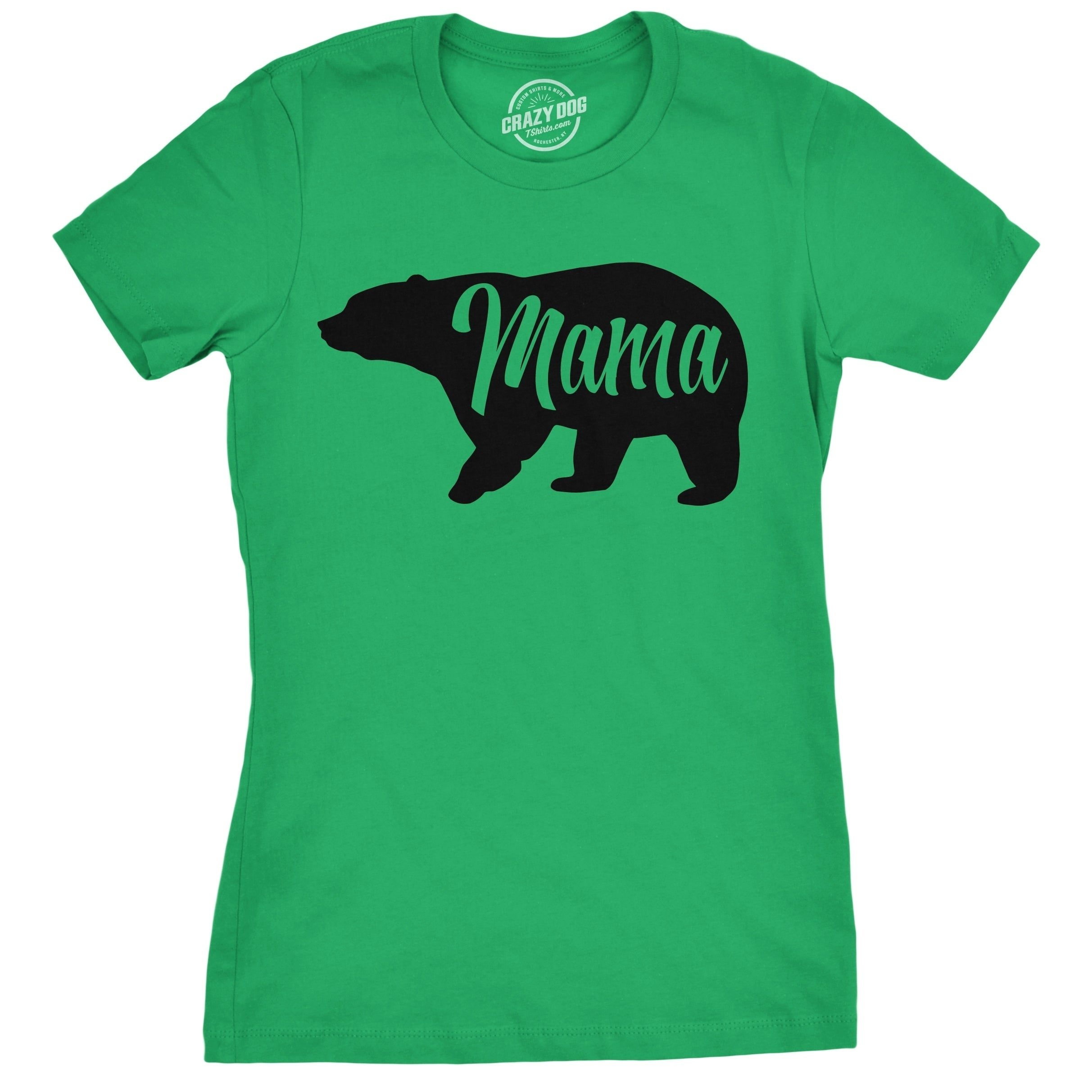 84cf0011 Shop Womens Mama Bear T Shirt - On Sale - Free Shipping On Orders Over $45  - Overstock - 18655558