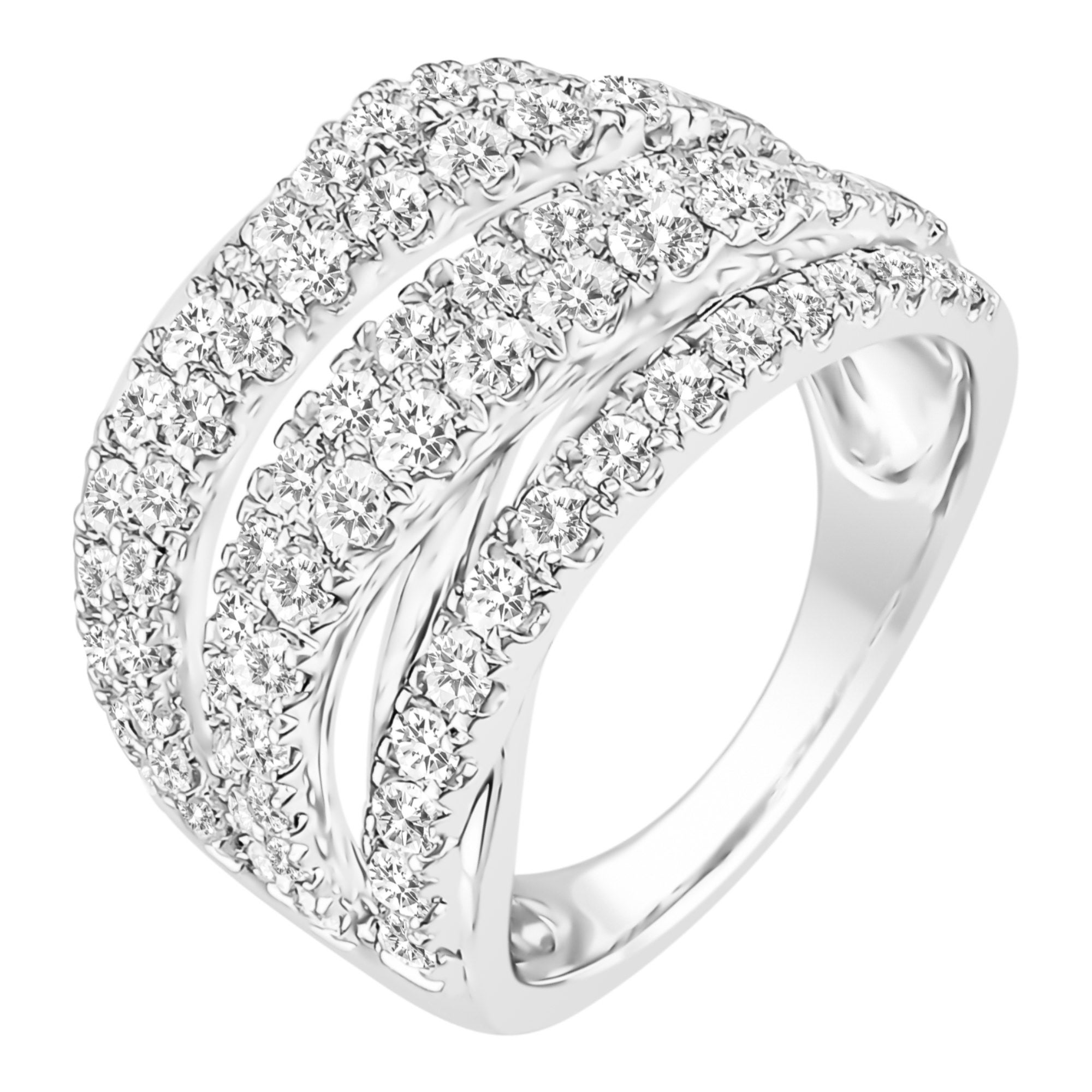 engagement layered bridal forevermark ring diamond jewellery lugaro rings