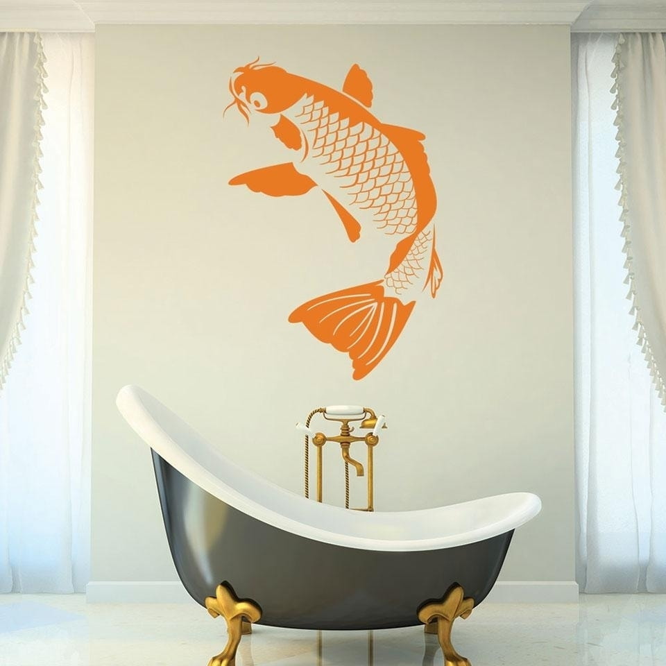 Koi Fish Wall Decal   Free Shipping On Orders Over $45   Overstock.com    24753147