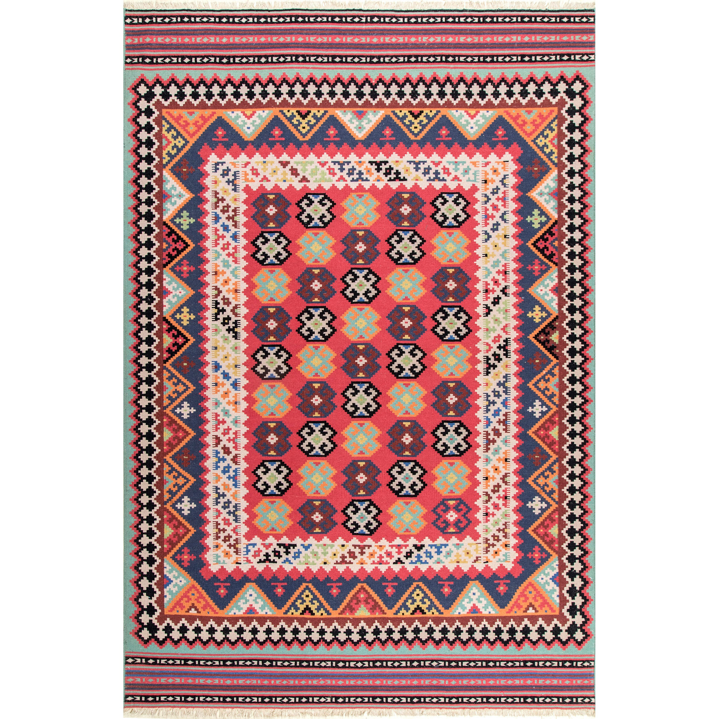 pink contemporary rug grey productpage large aztec style desktop aztecruglargegre editions swoon carousel
