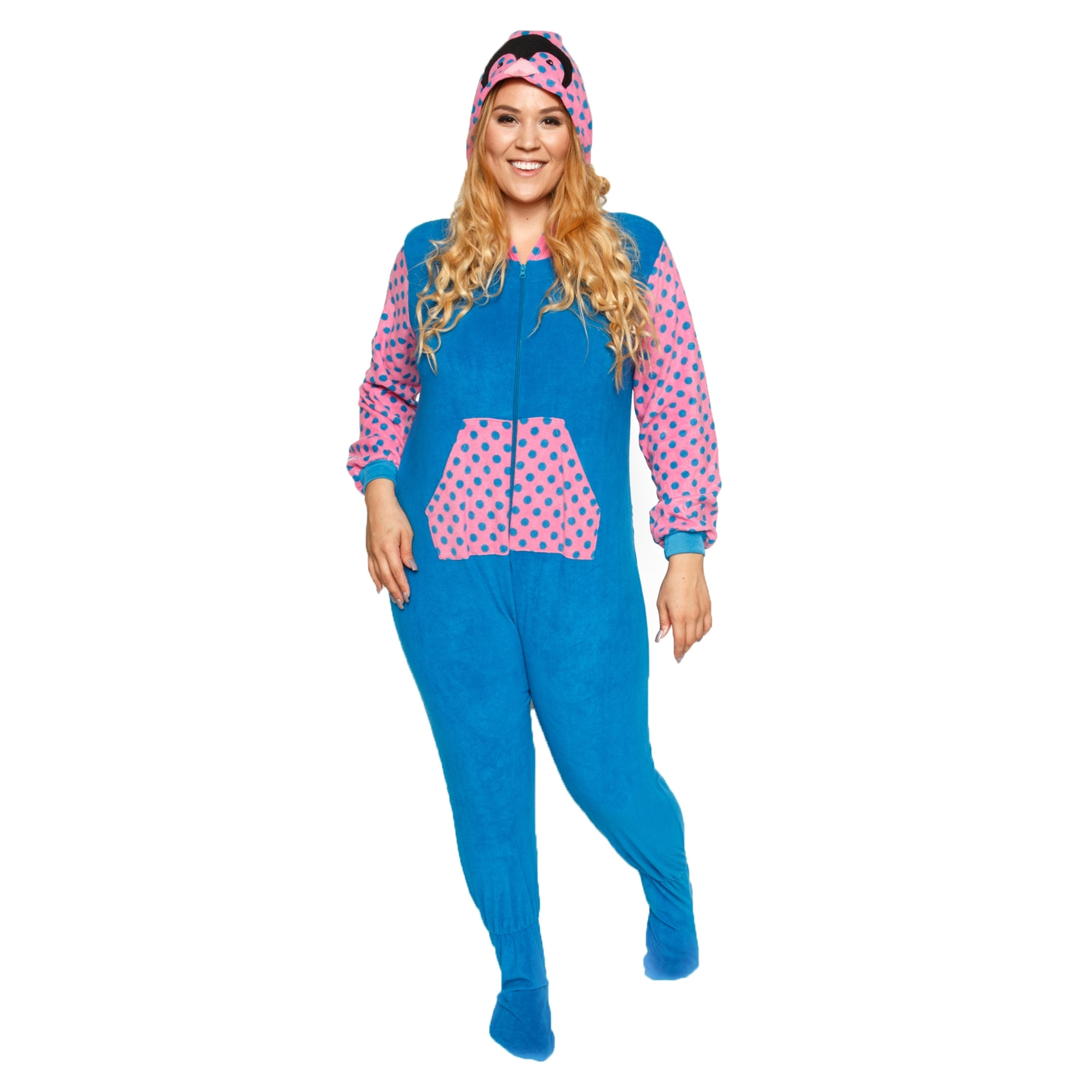 0f10d3dd7f Shop Xehar Womens Plus Size Soft Plush Warm Comfy Pajama Pjs Cow Set - Free  Shipping On Orders Over  45 - Overstock - 18691754