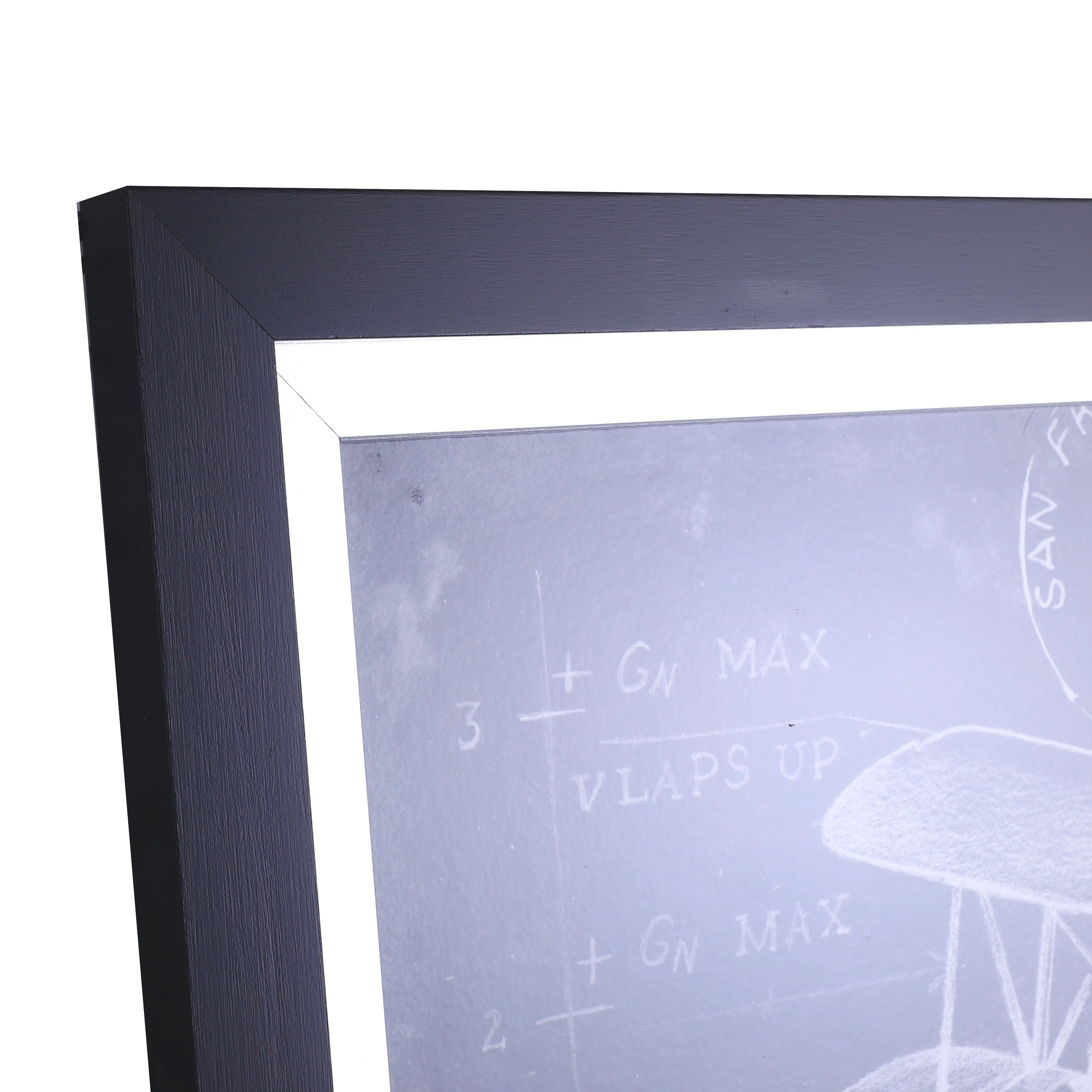 Shop 2275x2875 Flight Schematic I Framed Wall Art Free Shipping Today 18701849