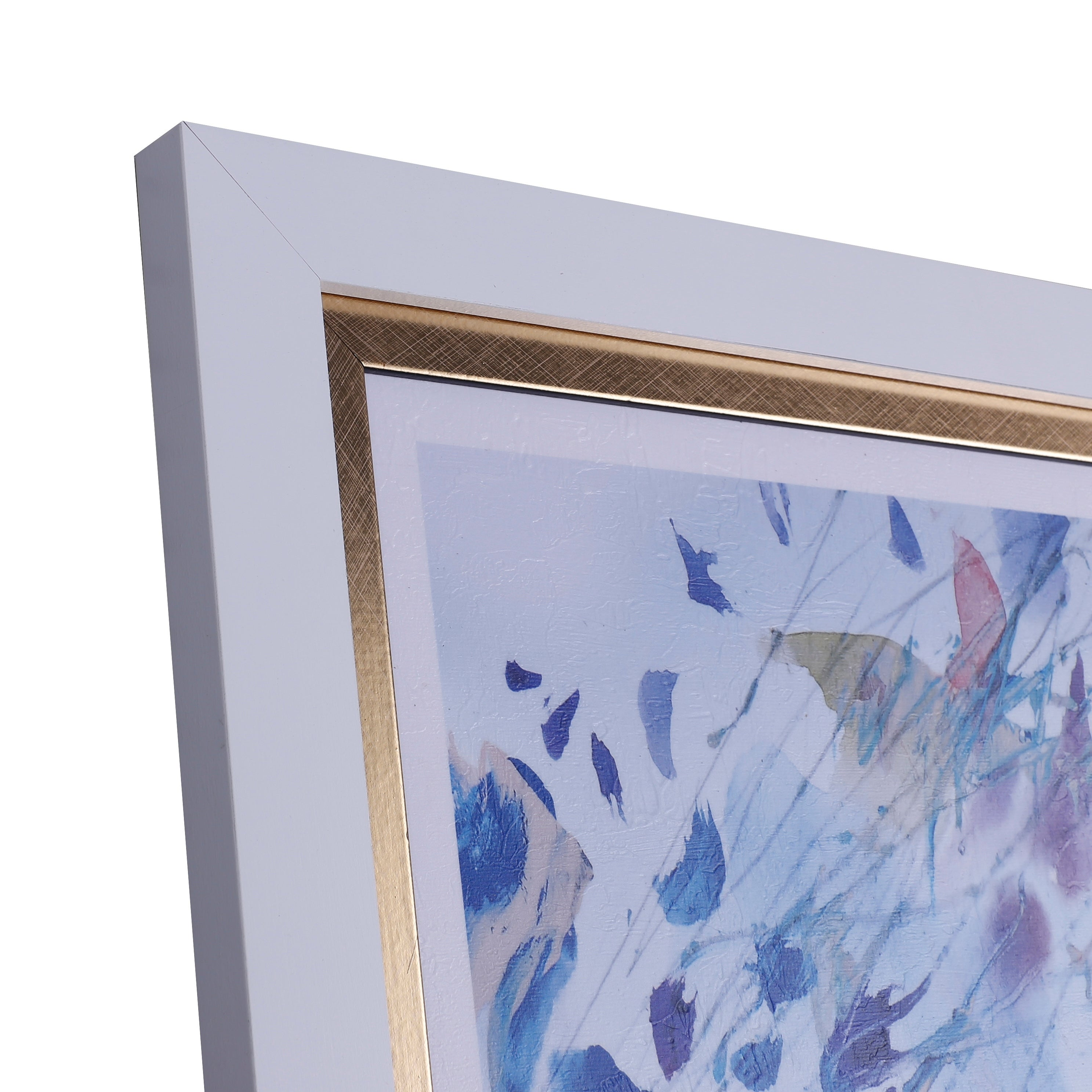 34x34 spring in the air framed abstract wall art