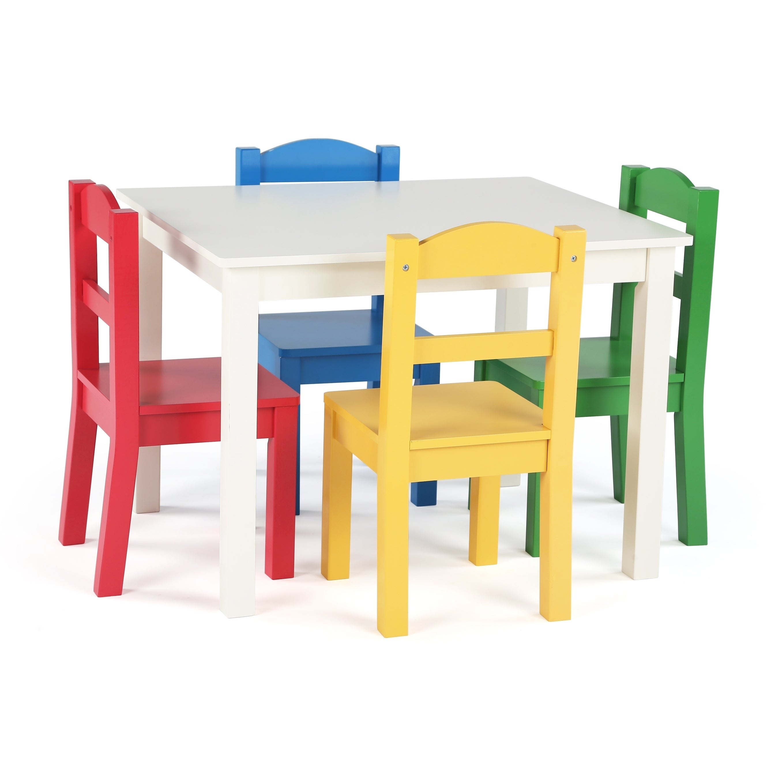 1c7a65d473021 Shop Summit Collection Kids Wood Table and 4 Chairs Set