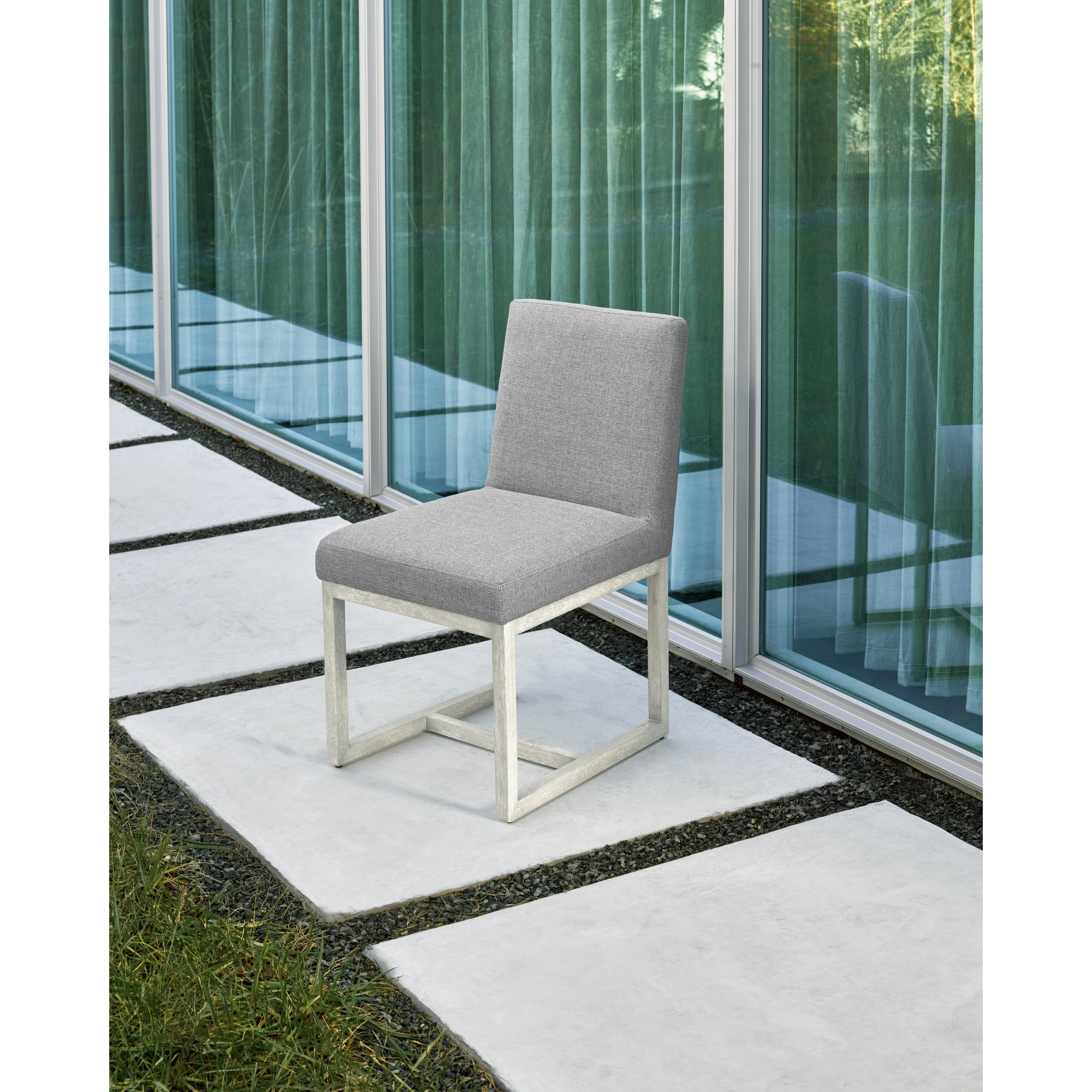 Modern Grey and Quartz Carter Side Chair - Free Shipping Today ...