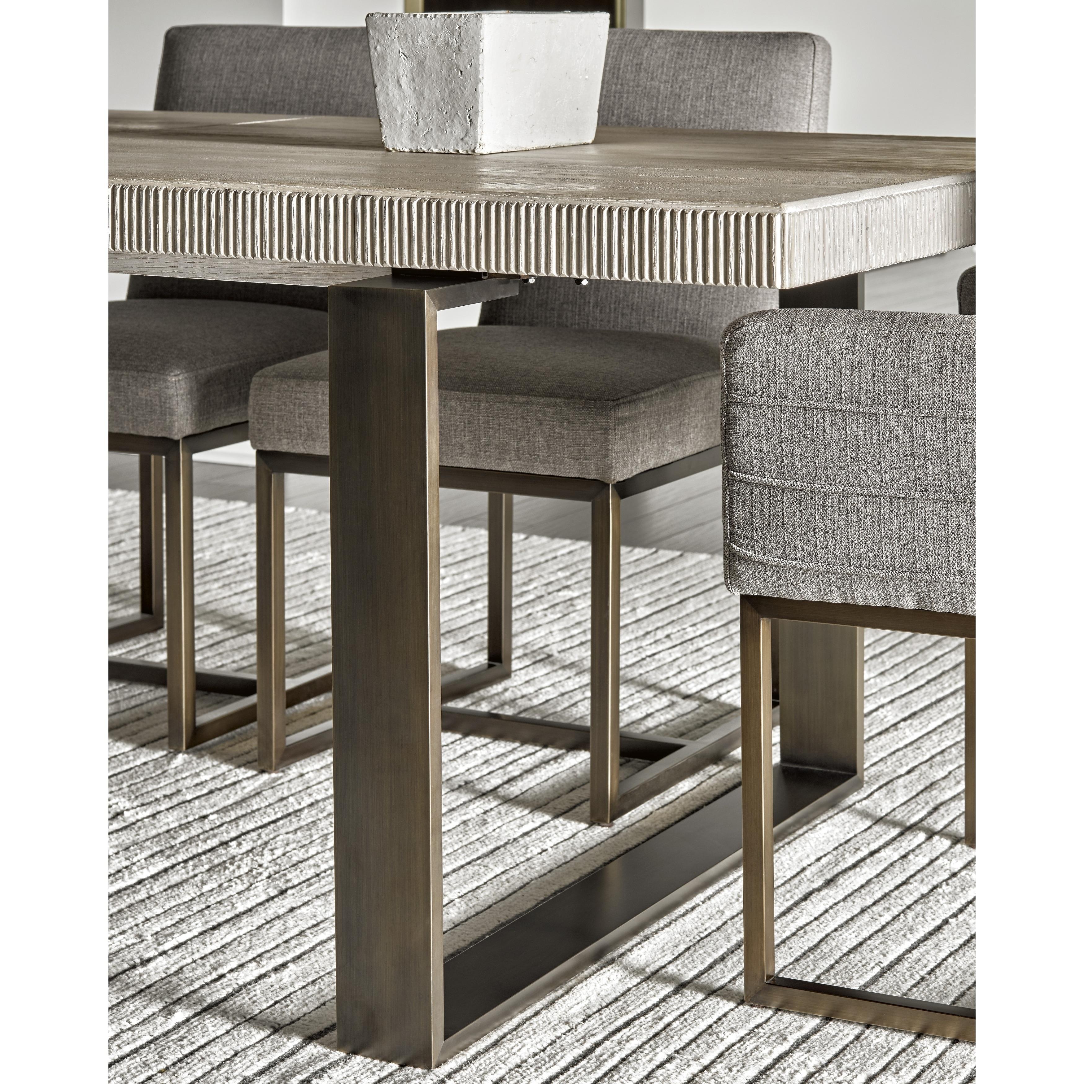 Modern Quartz Rectangular Robards Dining Table