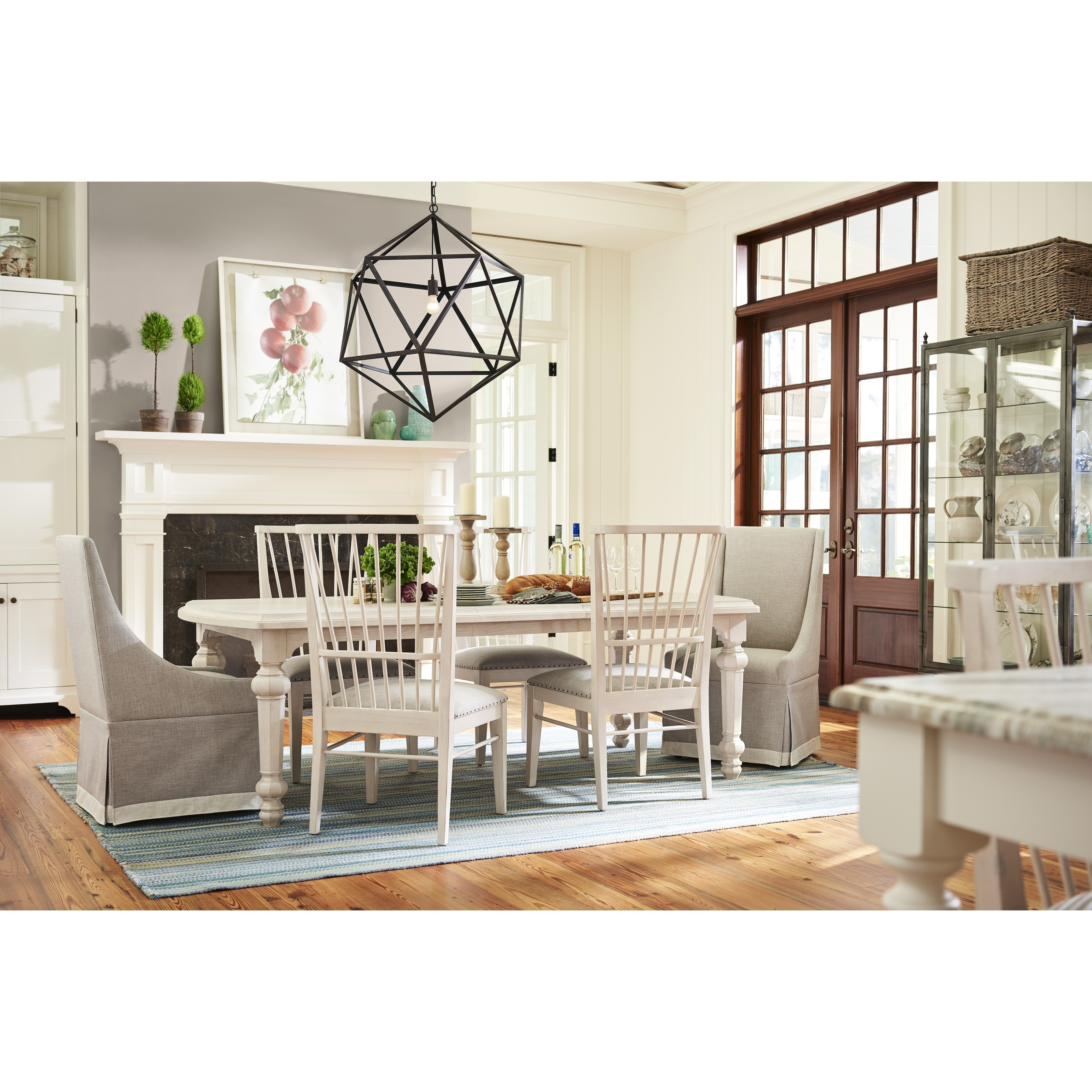 Paula Deen Bungalow Bluff Rectangular Sunday Supper Dining Table   Free  Shipping Today   Overstock   24794550