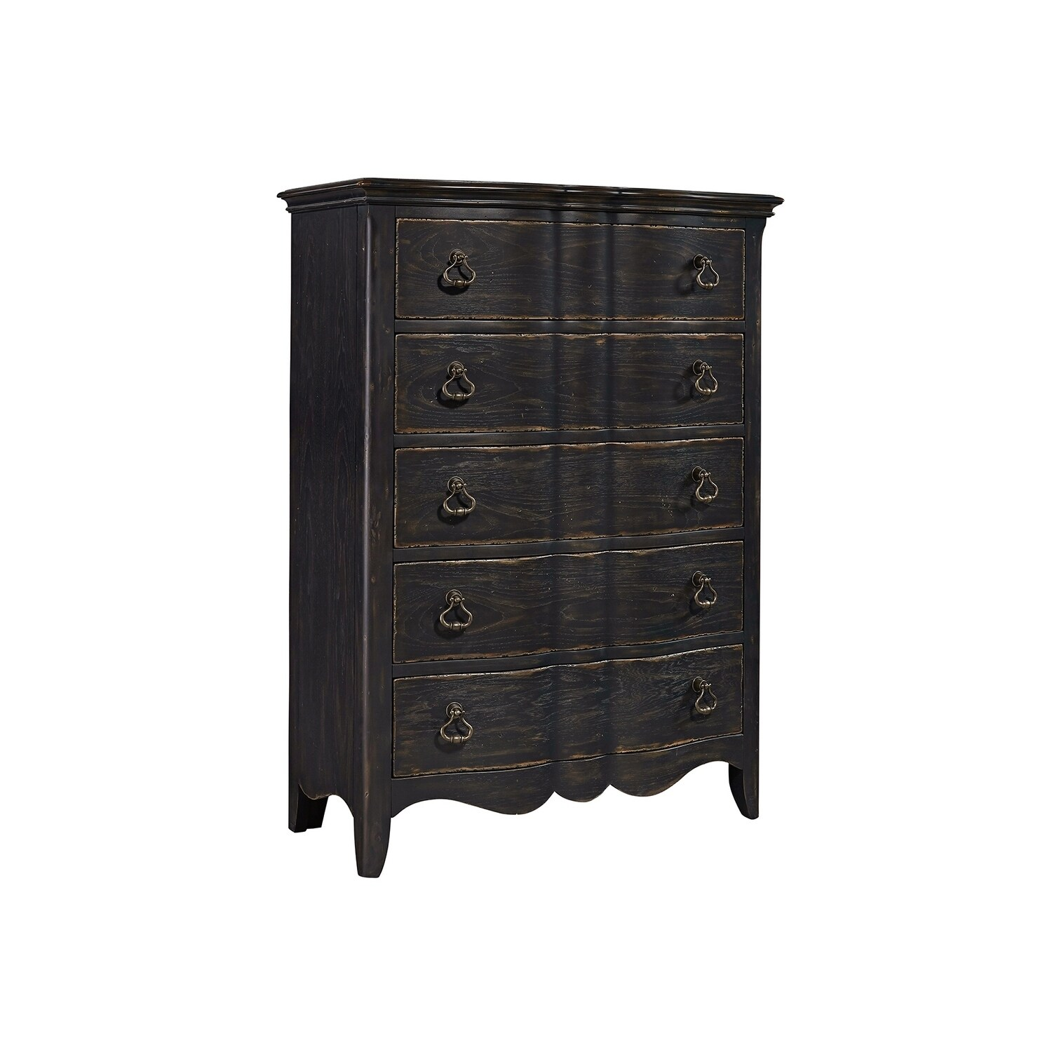 en nathan lacks dresser chest drawer black