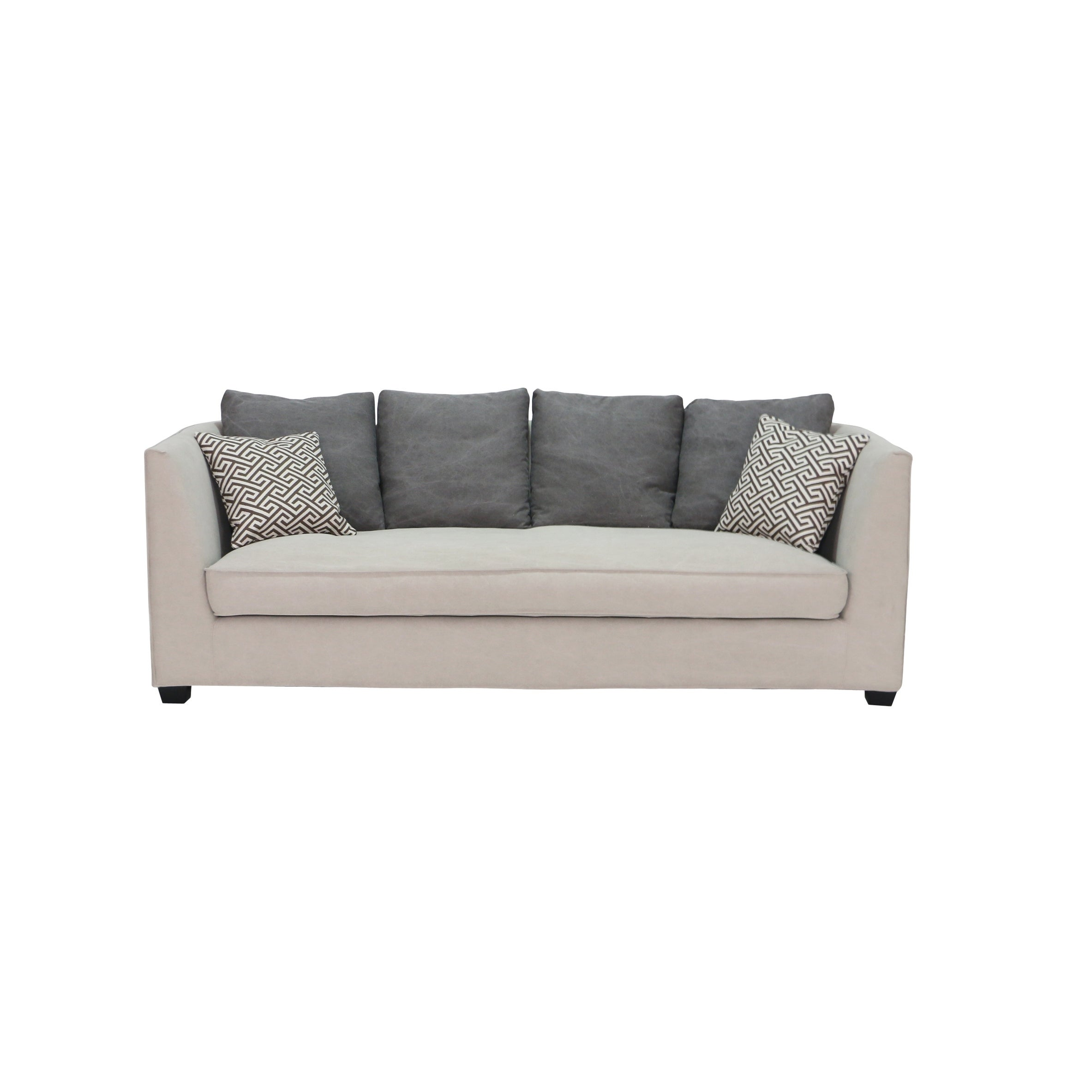 Superbe Shop Aurelle Home Loose Back Sofa   On Sale   Free Shipping Today    Overstock.com   18706929